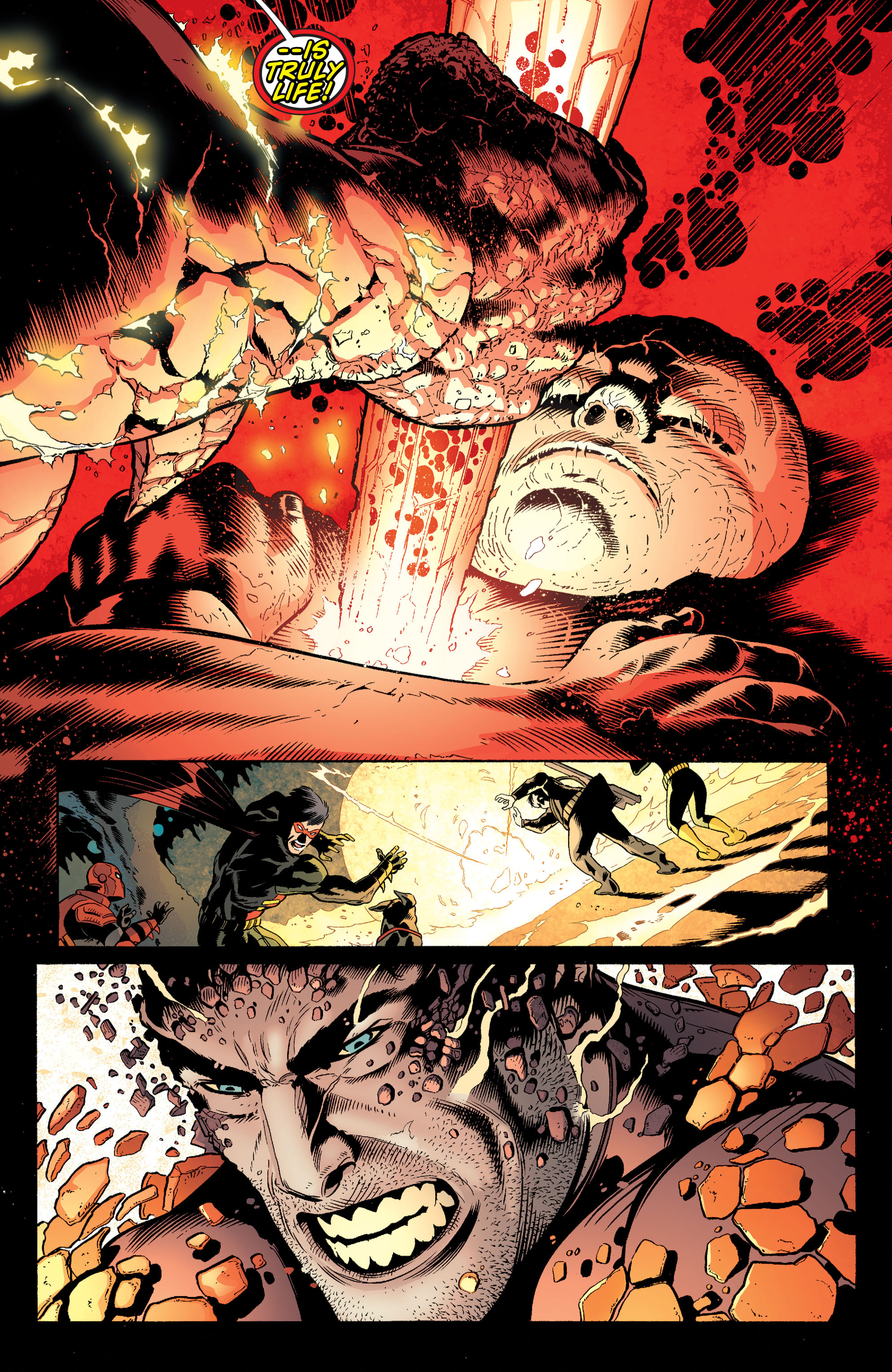 Read online Batman and Robin (2011) comic -  Issue #37 - 18