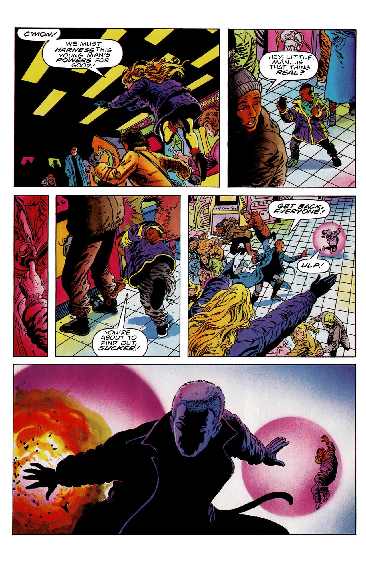 Read online Harbinger (1992) comic -  Issue #18 - 5