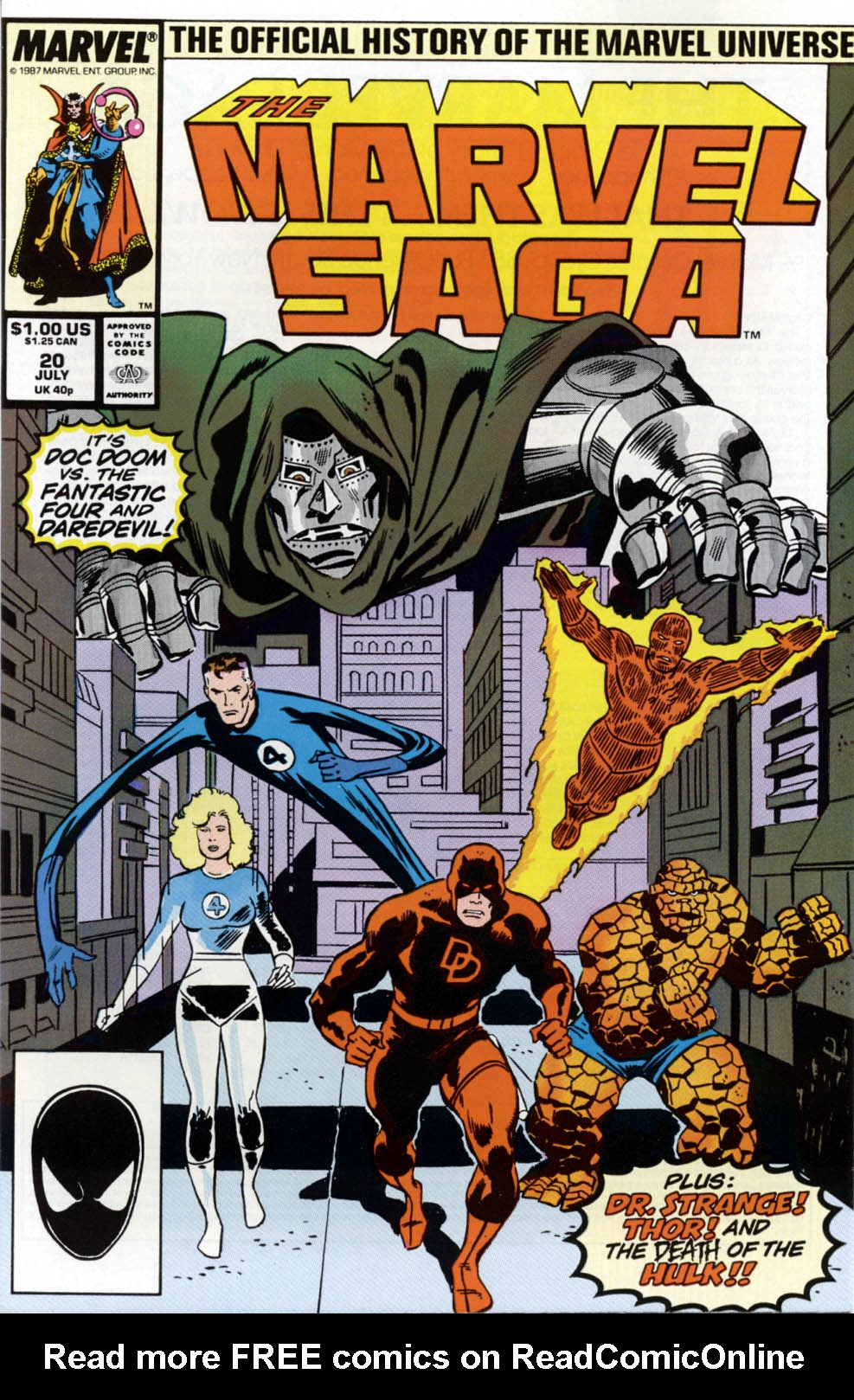 Marvel Saga: The Official History of the Marvel Universe 20 Page 1