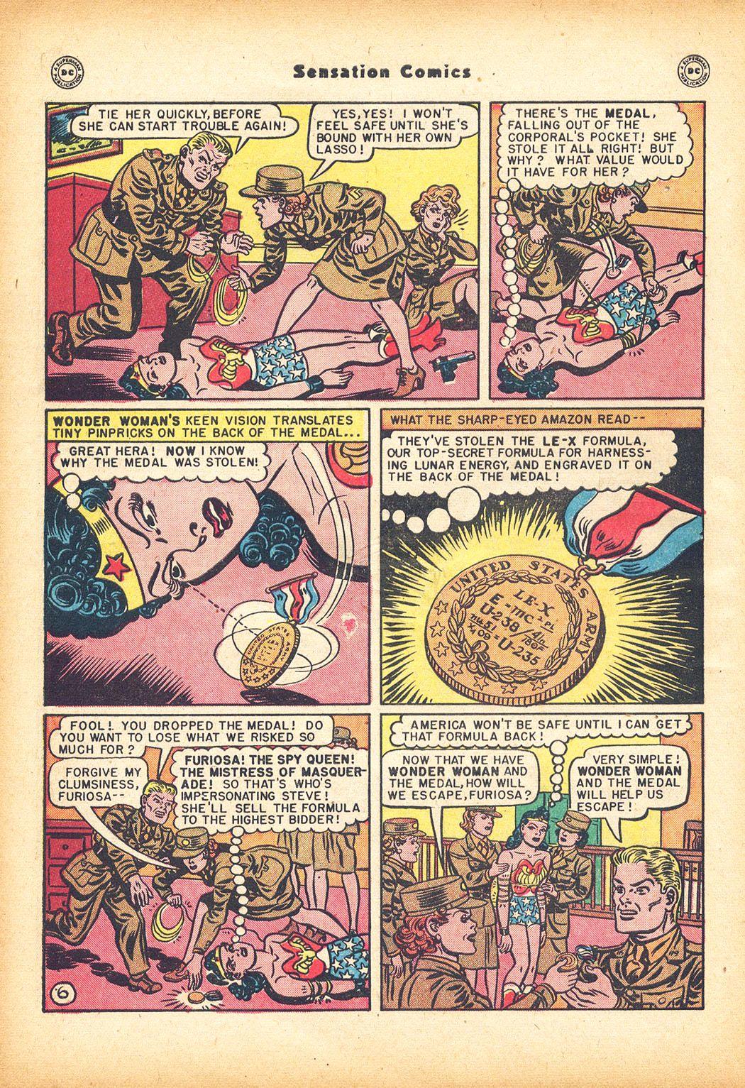 Read online Sensation (Mystery) Comics comic -  Issue #78 - 8