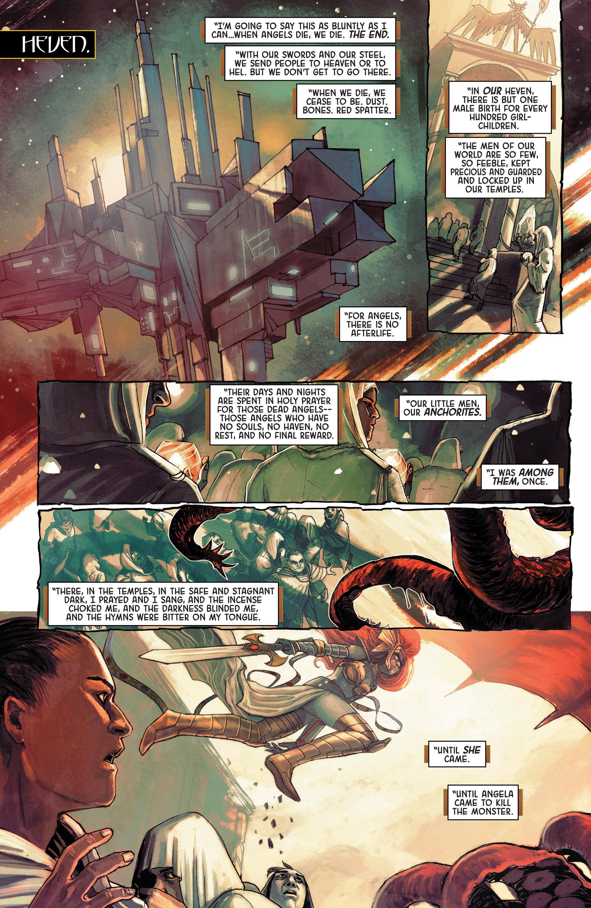 Read online Angela: Asgard's Assassin comic -  Issue #3 - 14