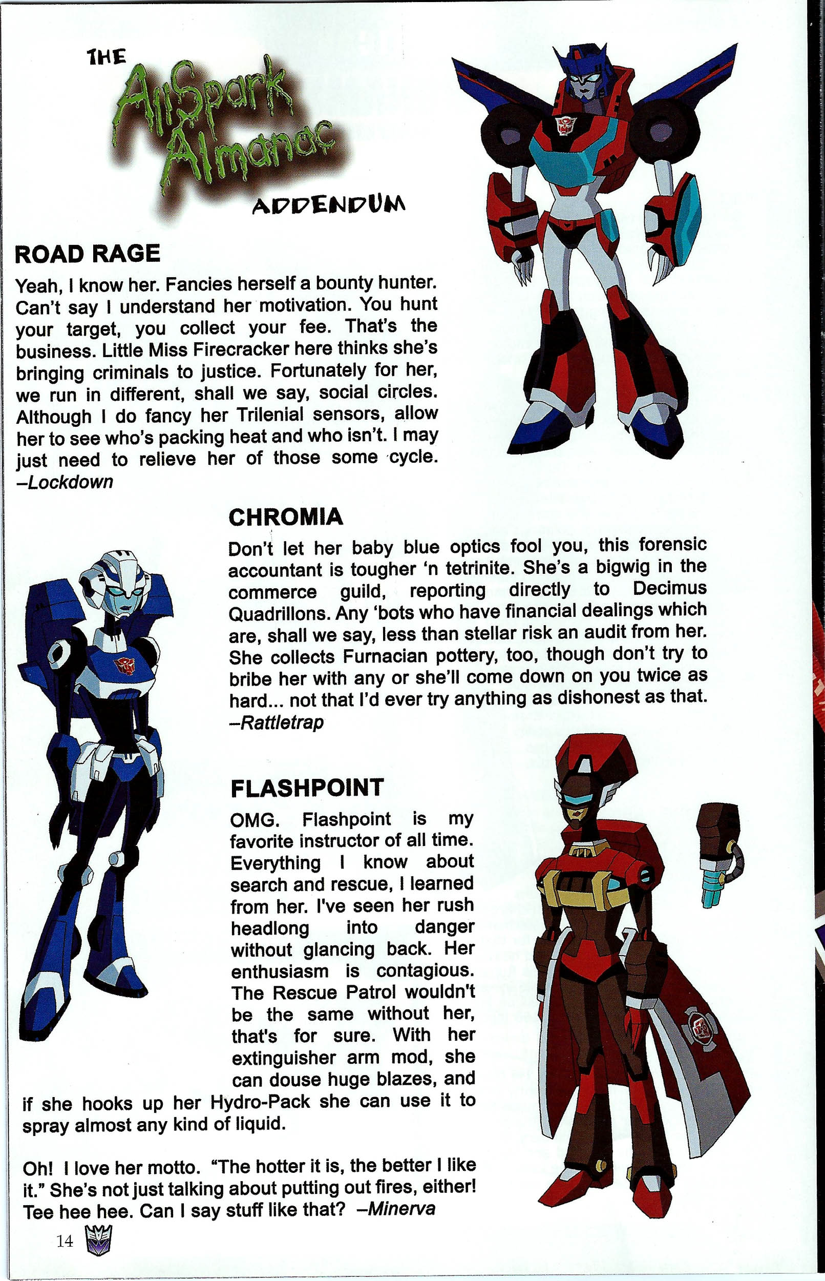 Read online Transformers: Collectors' Club comic -  Issue #43 - 14