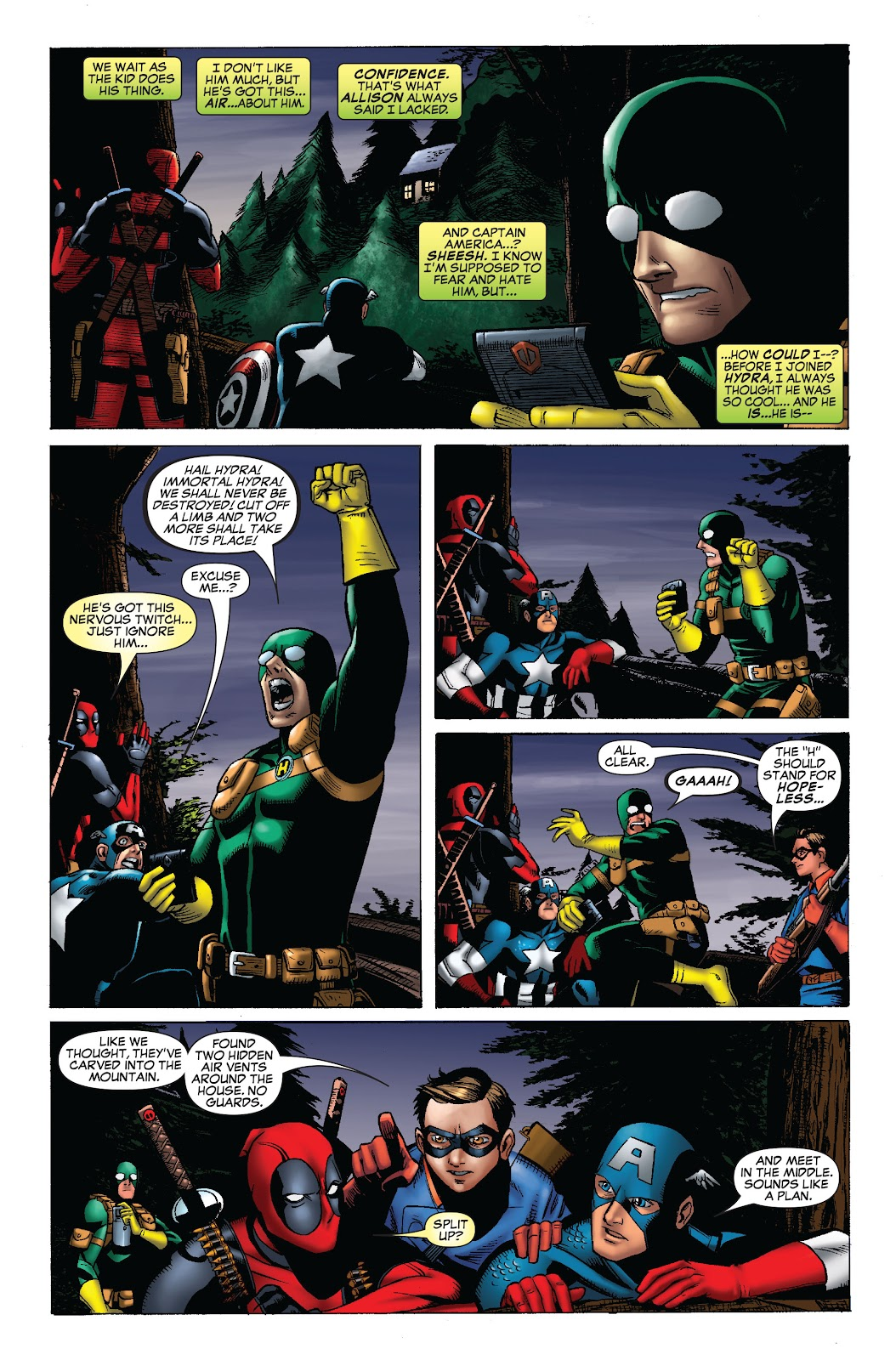 Comic Cable and Deadpool issue 45