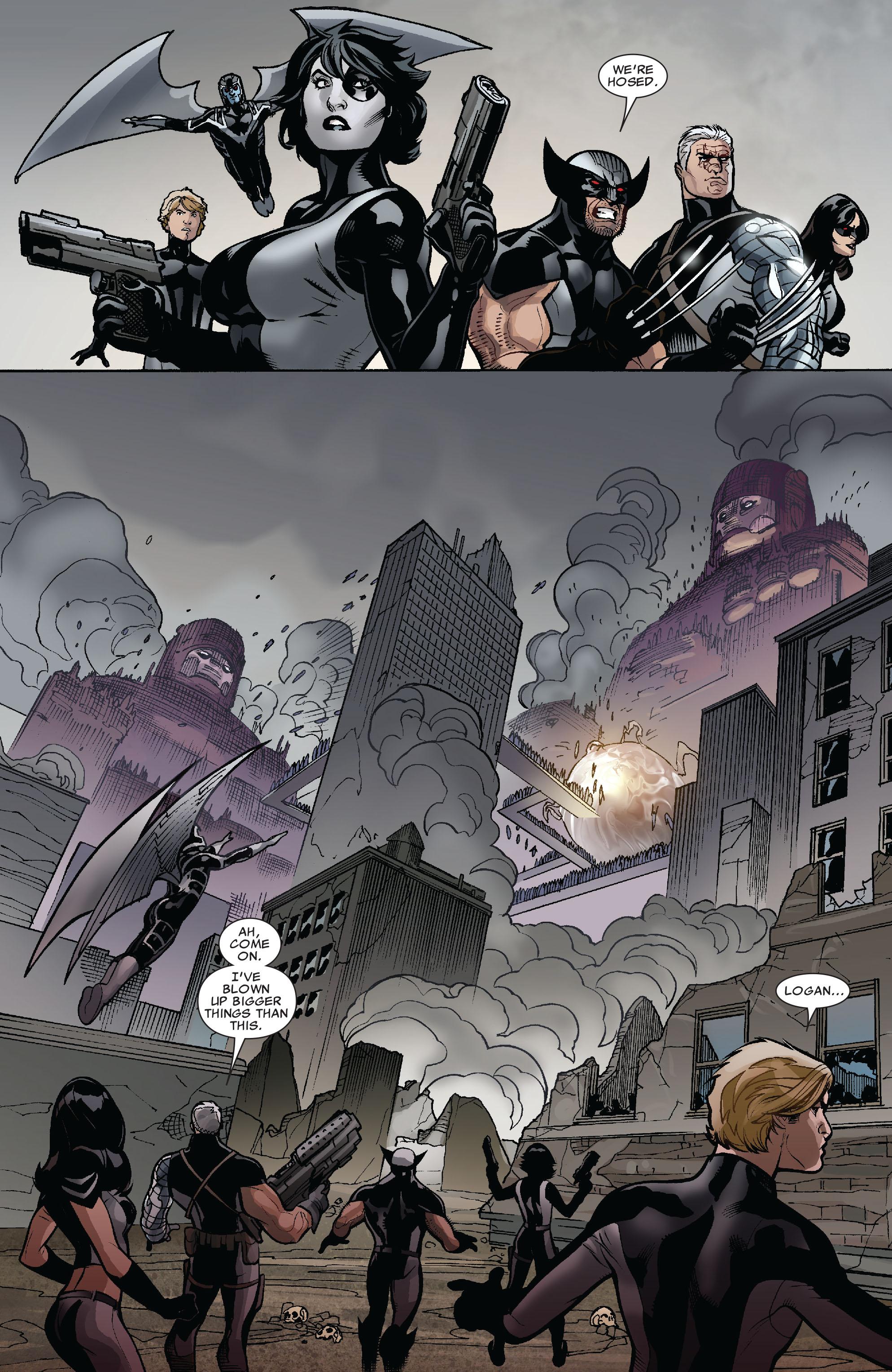 Read online Uncanny X-Men (1963) comic -  Issue #525 - 15
