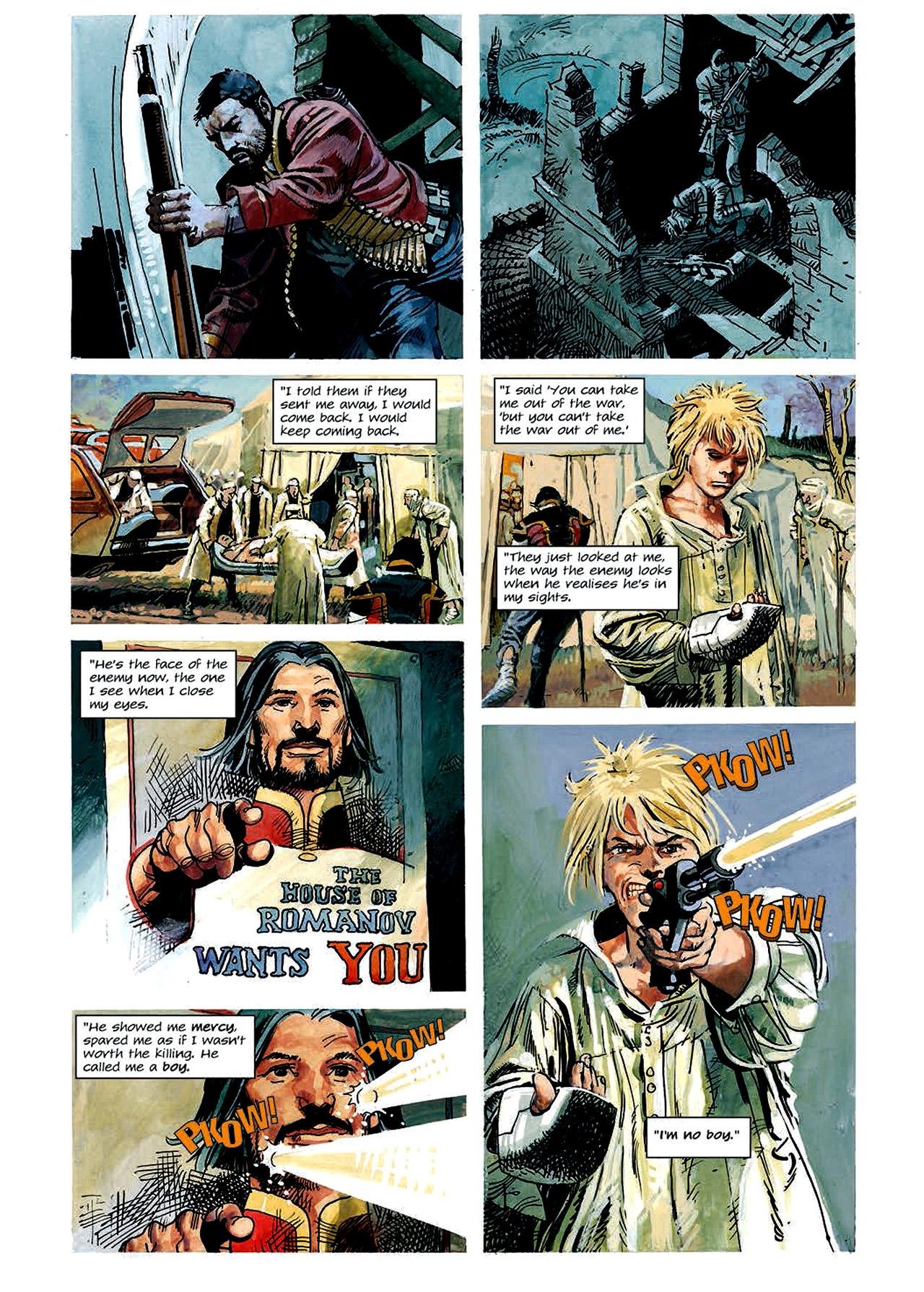 Read online Nikolai Dante comic -  Issue # TPB 4 - 64