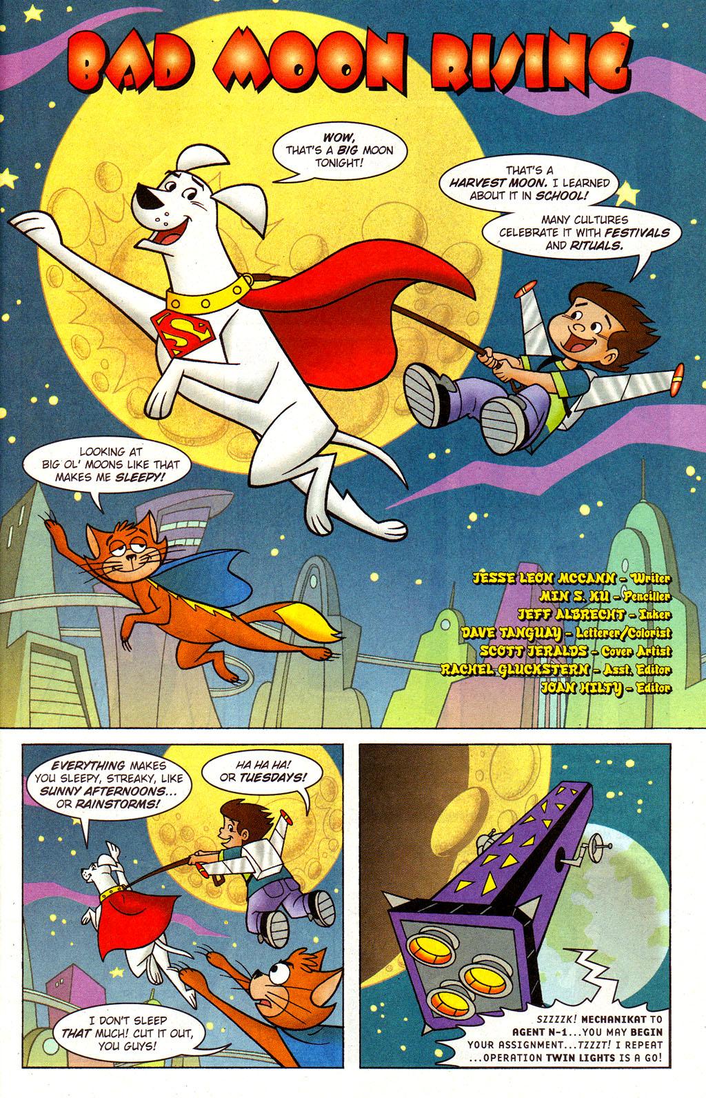 Read online Krypto the Superdog comic -  Issue #3 - 2