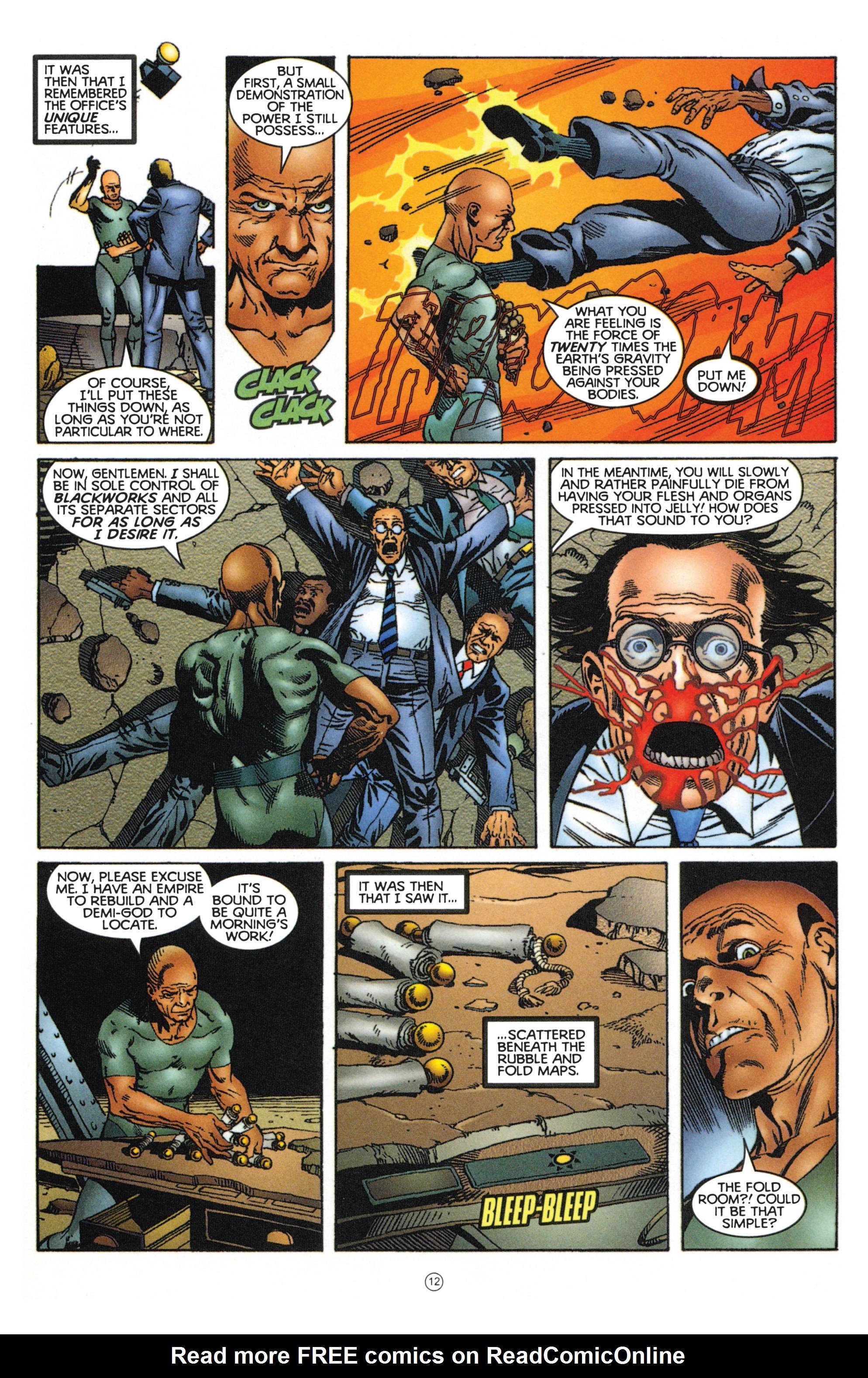Read online Eternal Warriors comic -  Issue # Issue Mog - 11