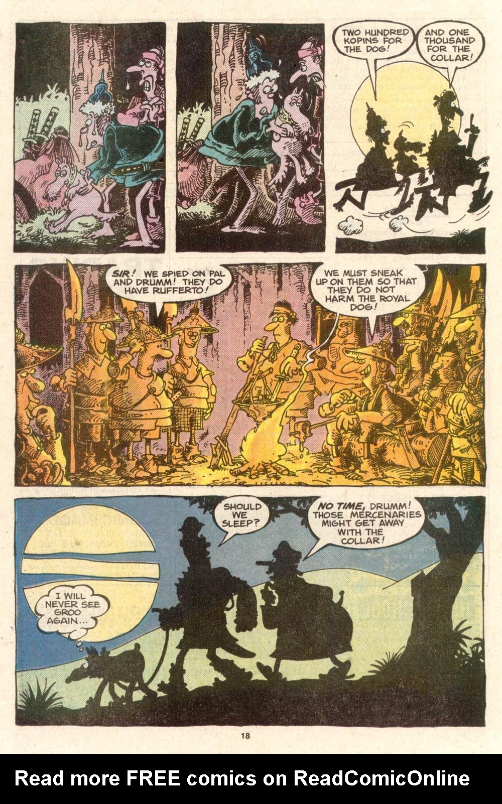 Read online Sergio Aragonés Groo the Wanderer comic -  Issue #39 - 18