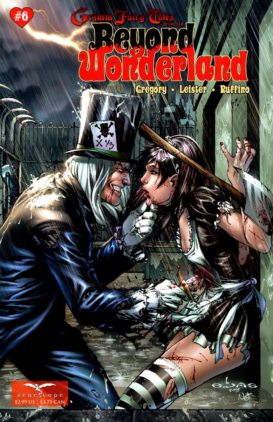 Grimm Fairy Tales: Beyond Wonderland issue 6 - Page 1