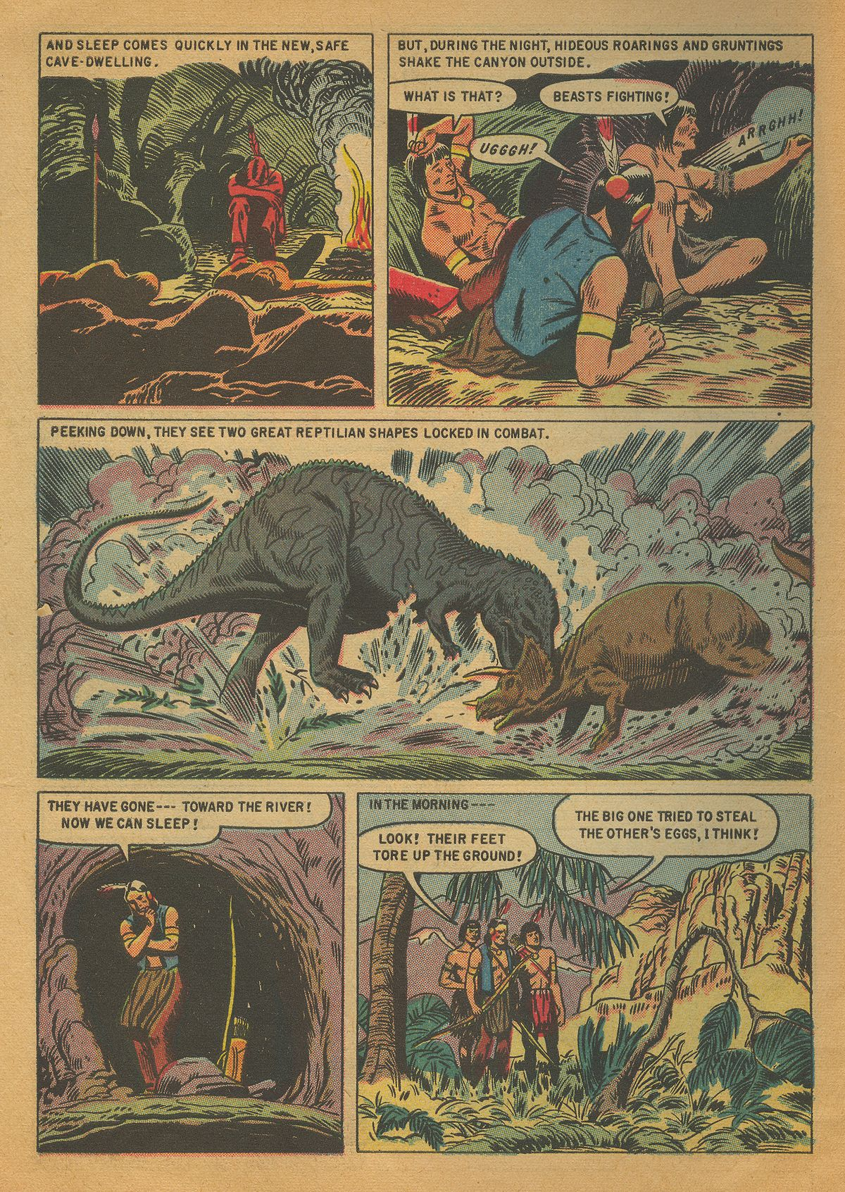 Read online Turok, Son of Stone comic -  Issue #4 - 6