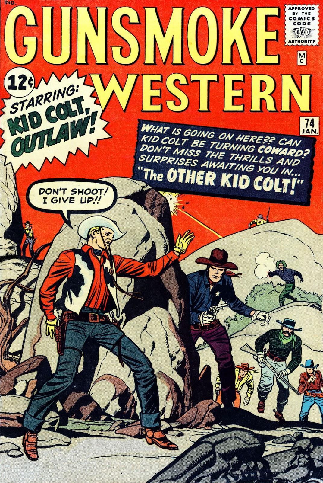 Gunsmoke Western issue 74 - Page 1