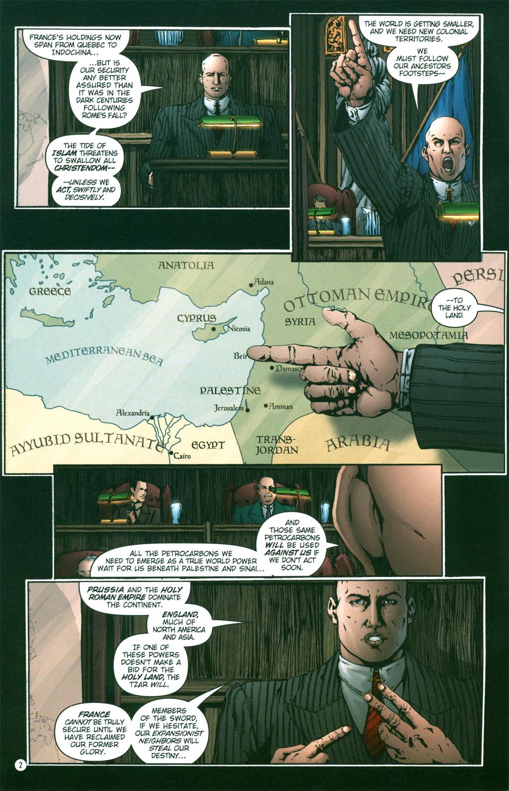 Read online Rex Mundi comic -  Issue #3 - 4