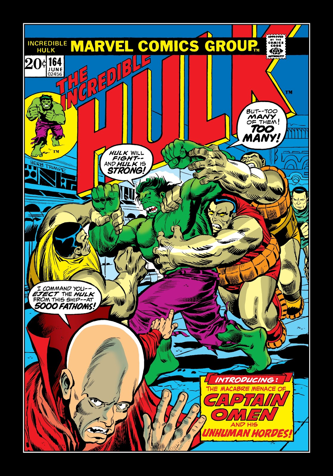 Read online Marvel Masterworks: The Incredible Hulk comic -  Issue # TPB 9 (Part 2) - 56