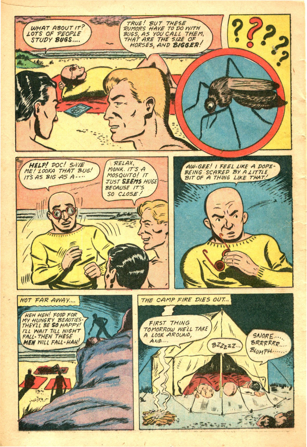 Read online Shadow Comics comic -  Issue #47 - 19
