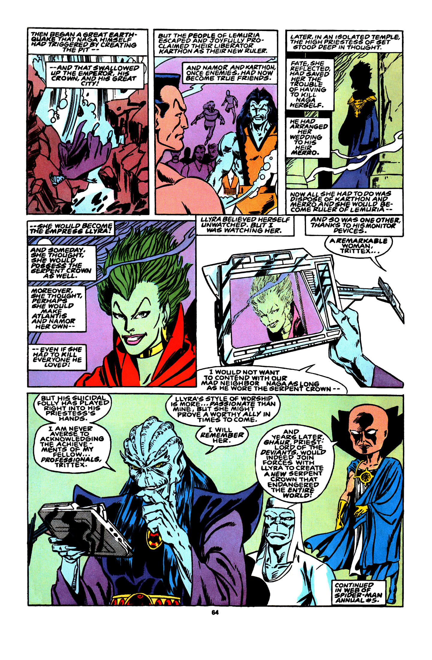 Read online X-Factor (1986) comic -  Issue # _ Annual 4 - 57