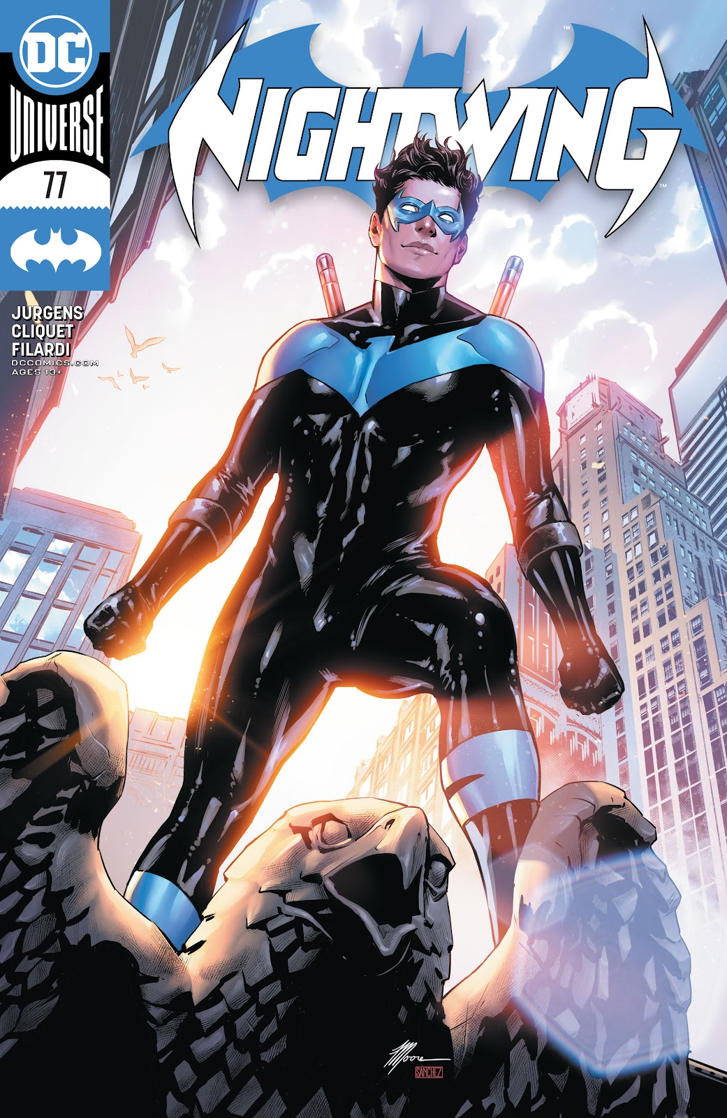 Nightwing (2016) issue 77 - Page 1