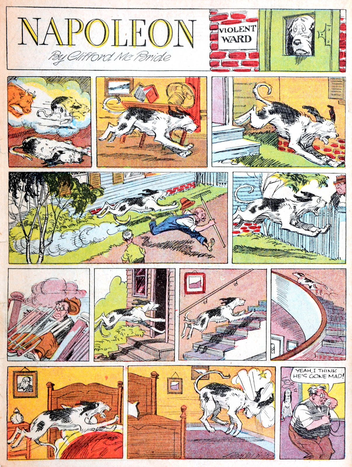 Read online Famous Funnies comic -  Issue #38 - 4