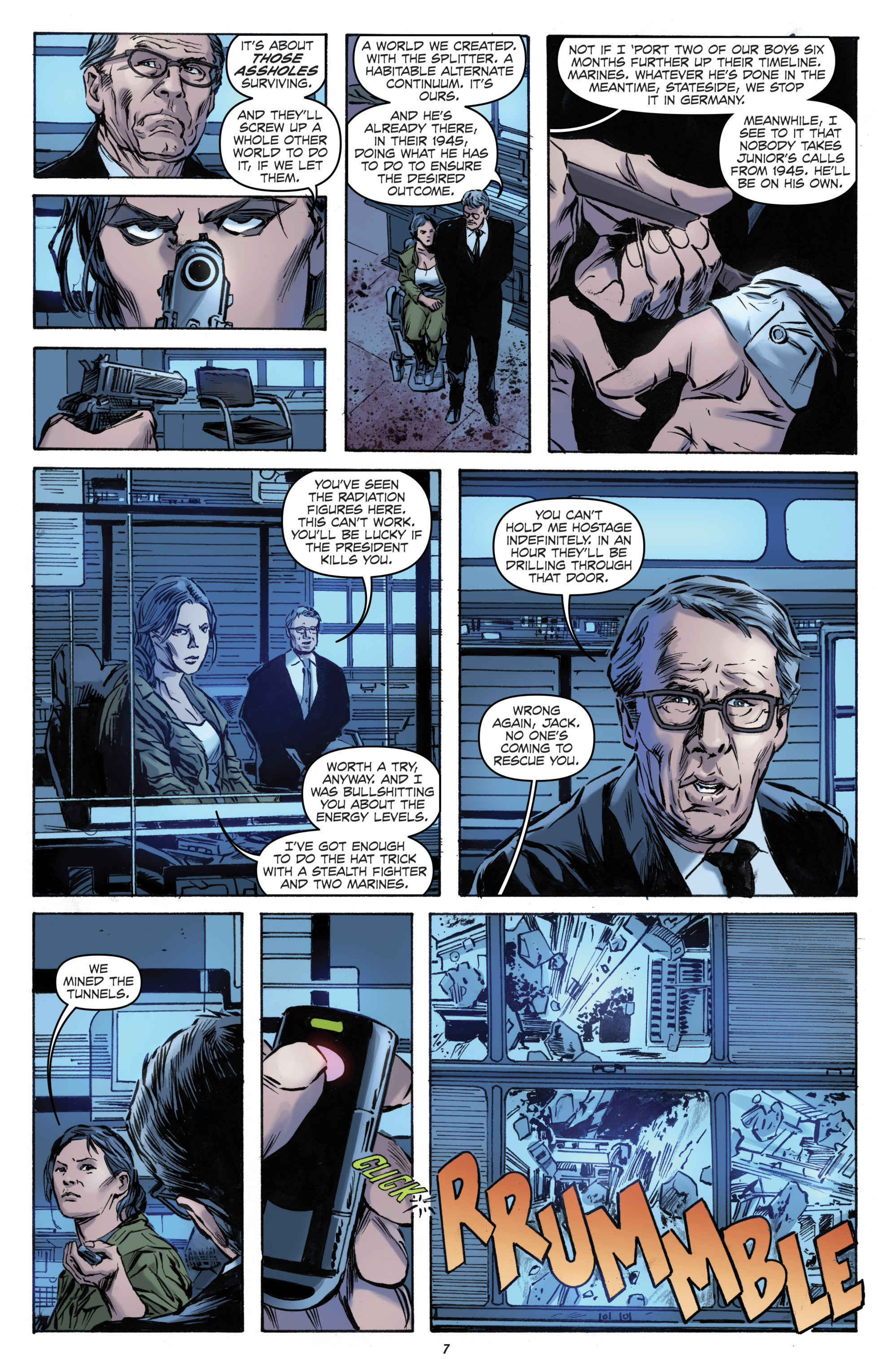 Read online Archangel (2016) comic -  Issue #1 - 9