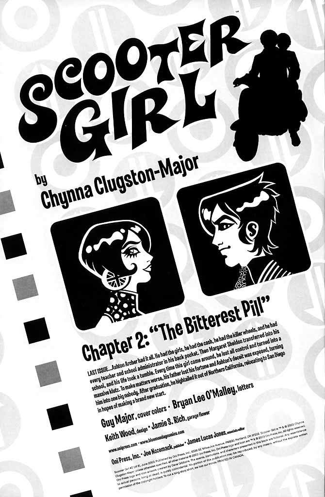 Read online Scooter Girl comic -  Issue #2 - 2