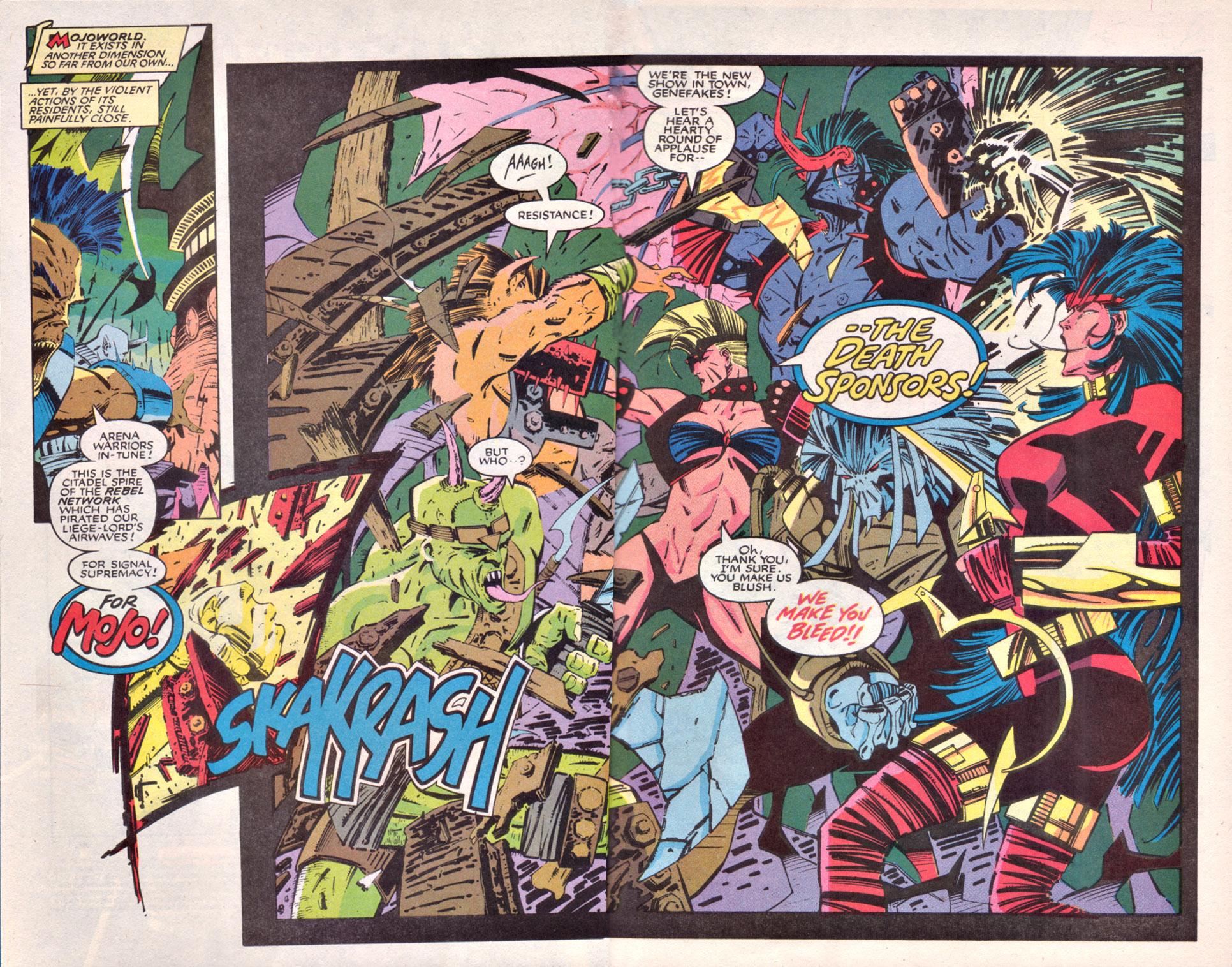 Read online Uncanny X-Men (1963) comic -  Issue # _Annual 16 - 3