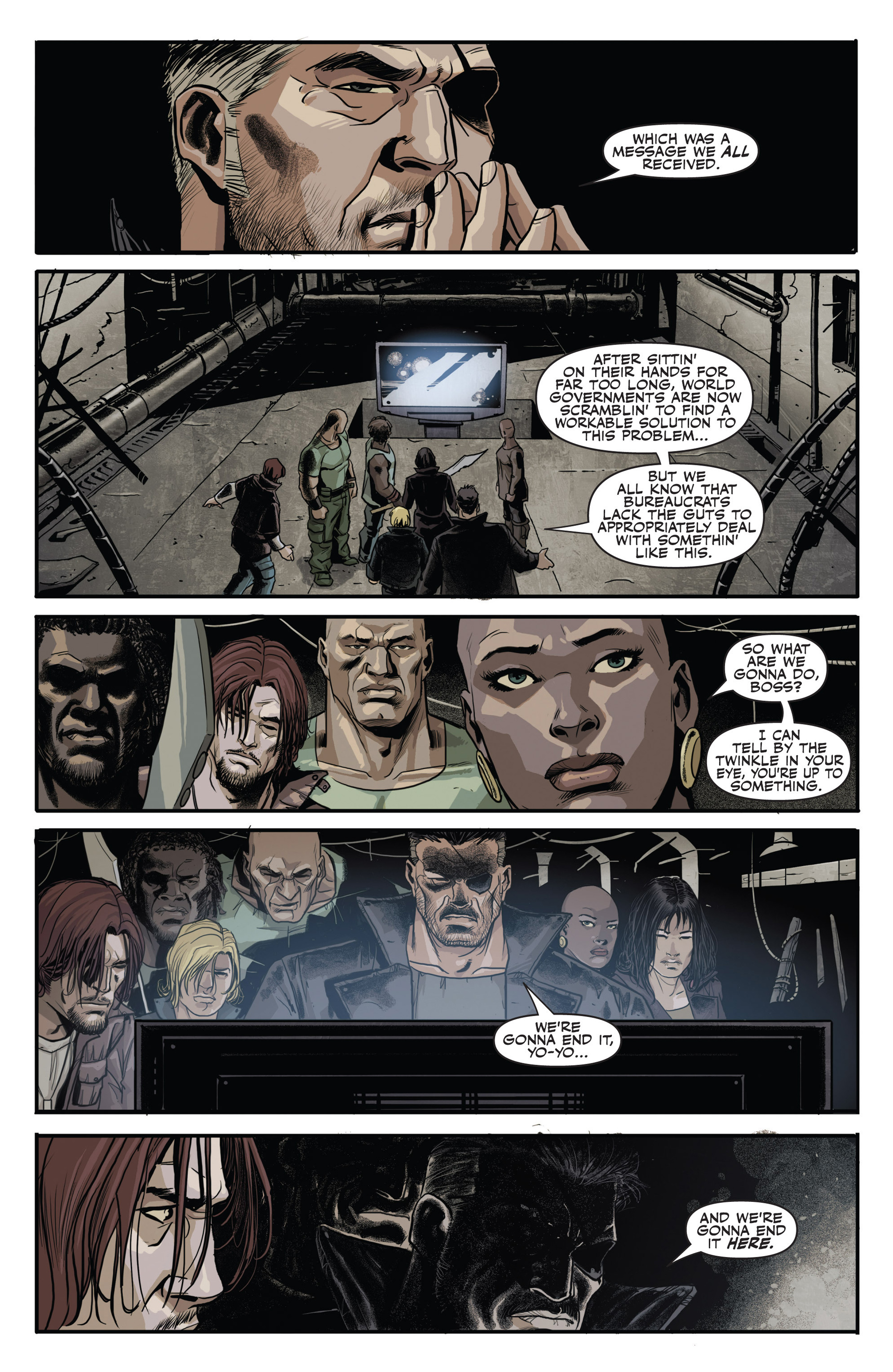 Read online Secret Warriors comic -  Issue #20 - 11