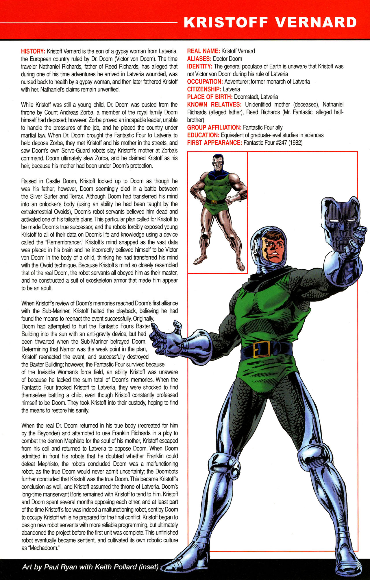 Read online All-New Official Handbook of the Marvel Universe A to Z comic -  Issue #12 - 19
