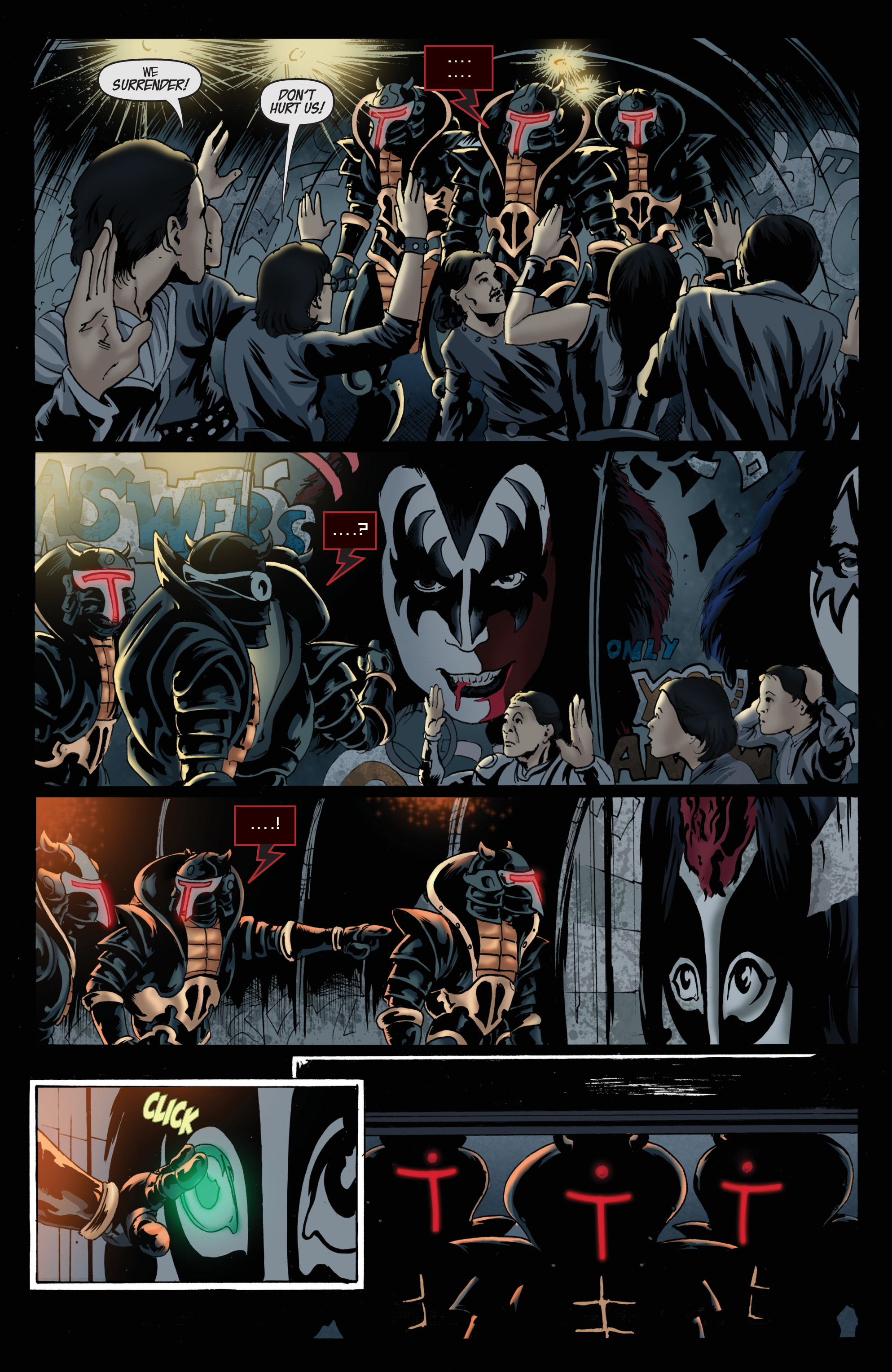 Read online KISS comic -  Issue #8 - 19