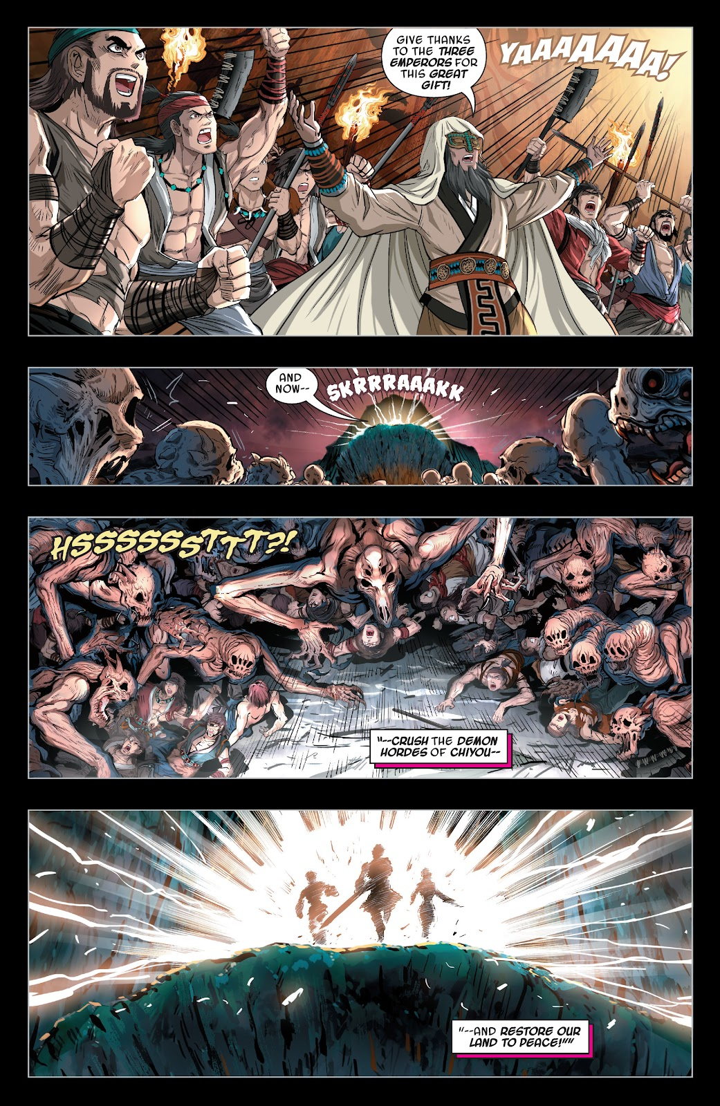 Read online Sword Master comic -  Issue #4 - 13