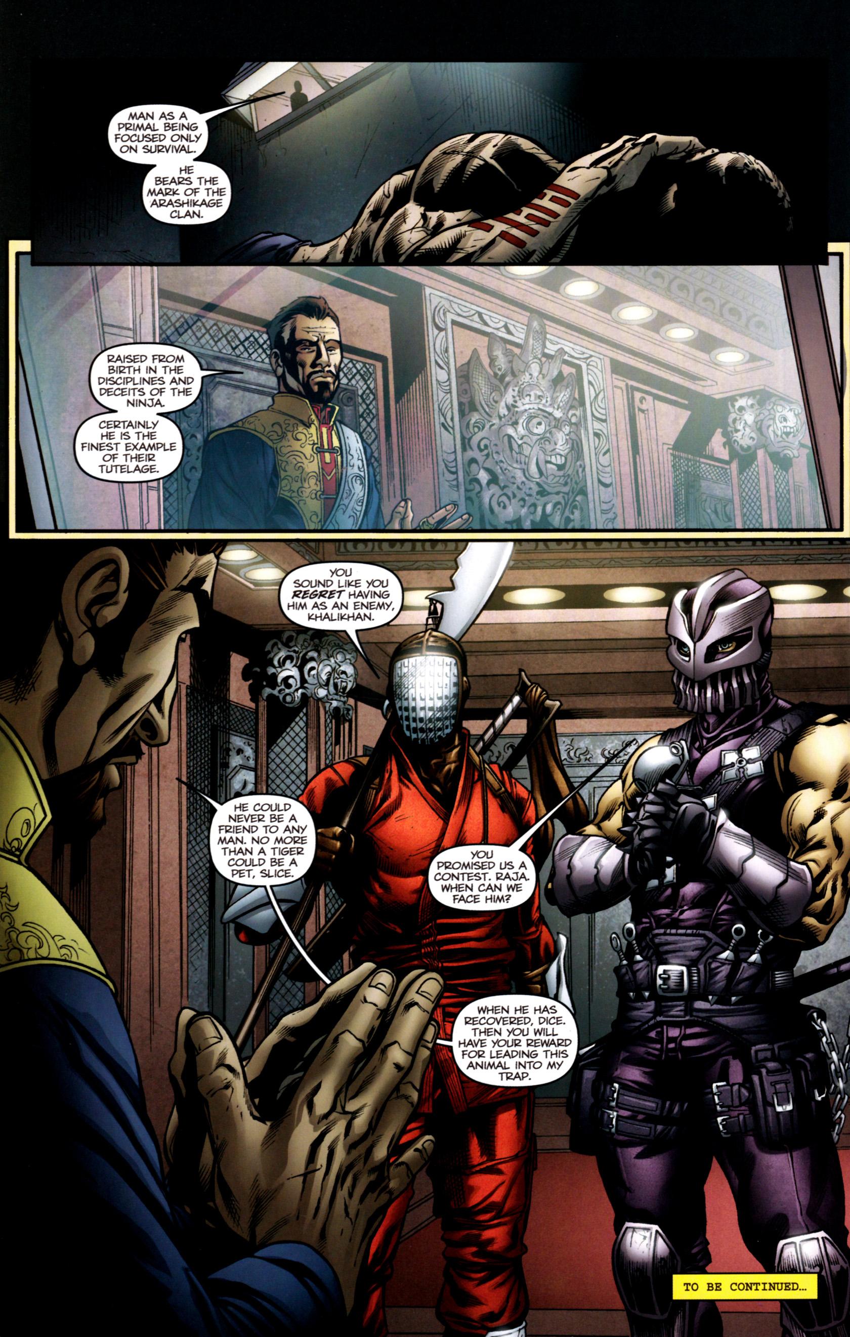 Read online G.I. Joe: Snake Eyes comic -  Issue #2 - 25