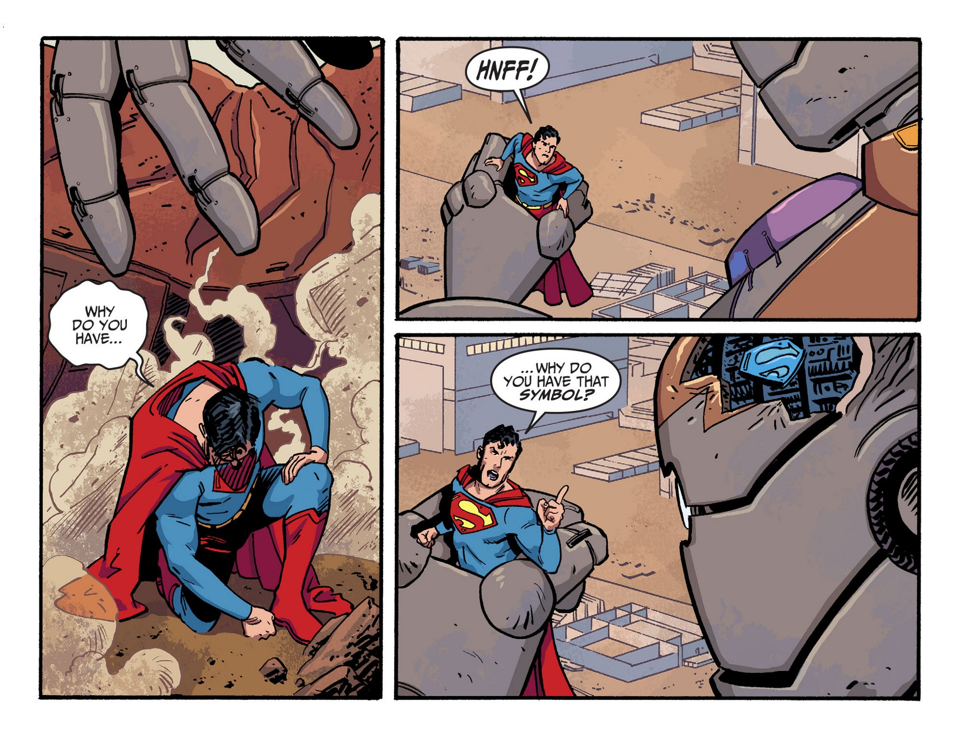 Read online Adventures of Superman [I] comic -  Issue #43 - 21