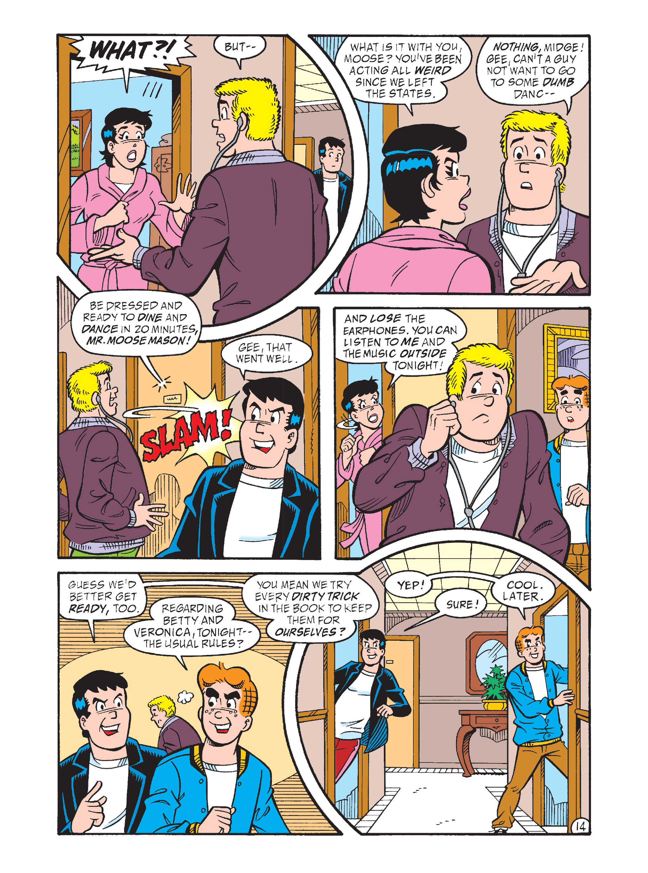 Read online Archie's Funhouse Double Digest comic -  Issue #1 - 49