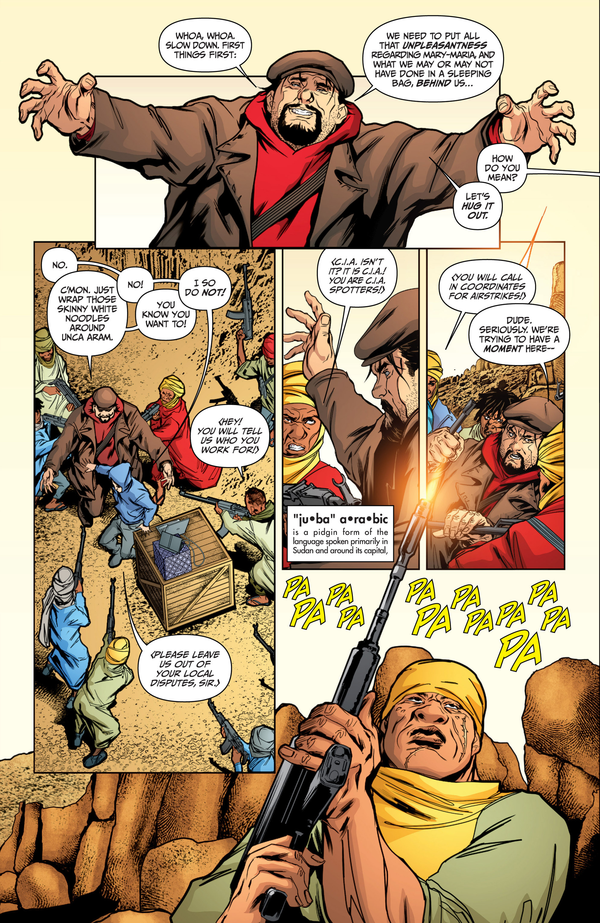Read online Archer and Armstrong comic -  Issue #16 - 14