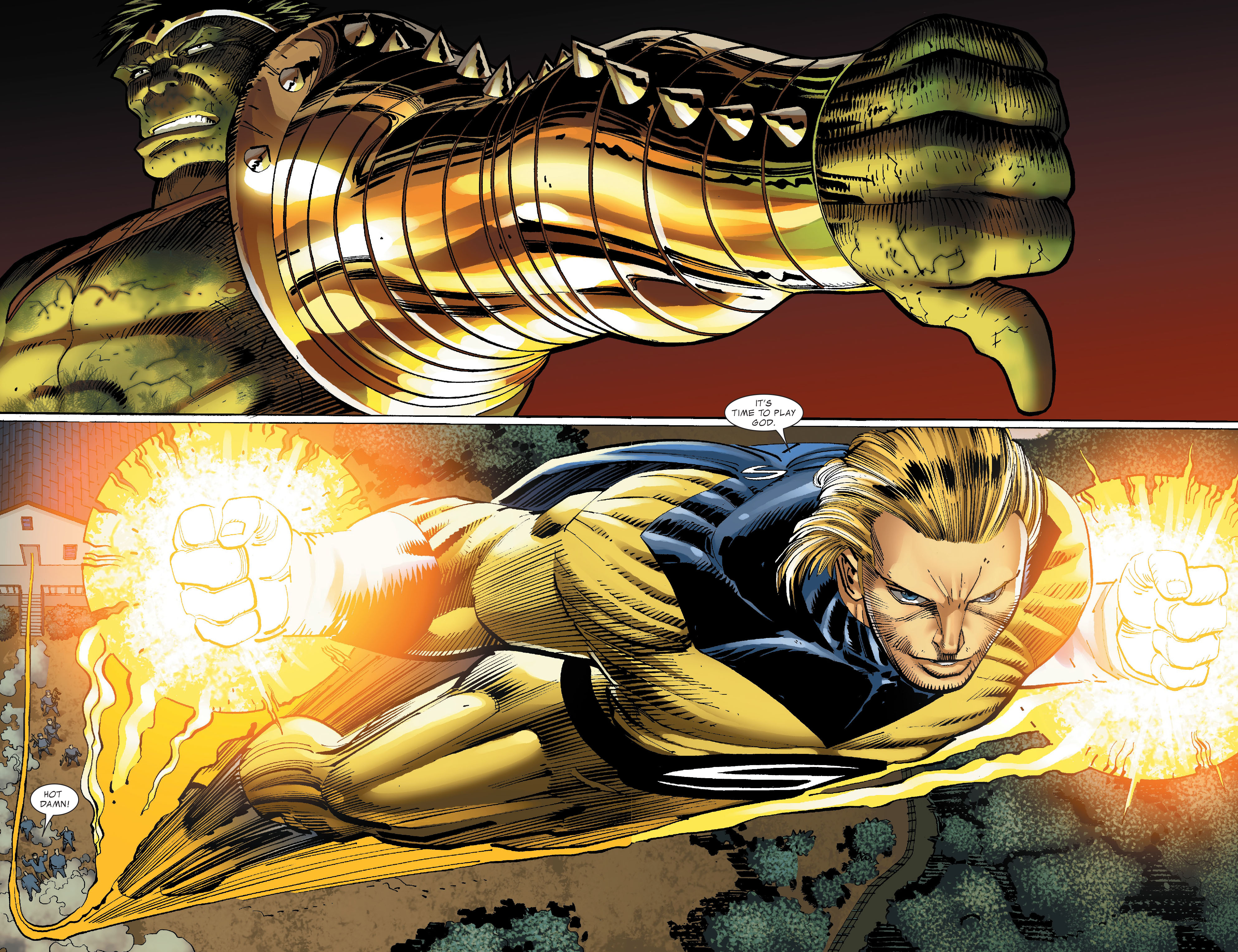 Read online World War Hulk comic -  Issue #4 - 35