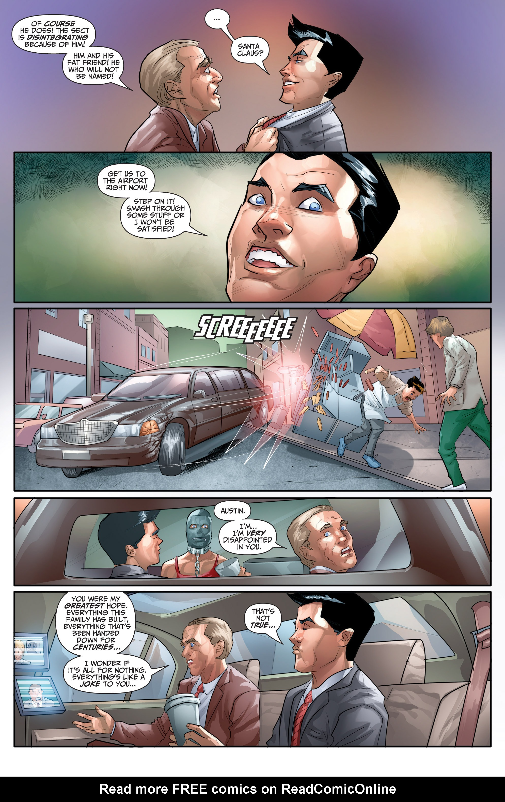Read online Archer and Armstrong comic -  Issue #Archer and Armstrong _TPB 7 - 61