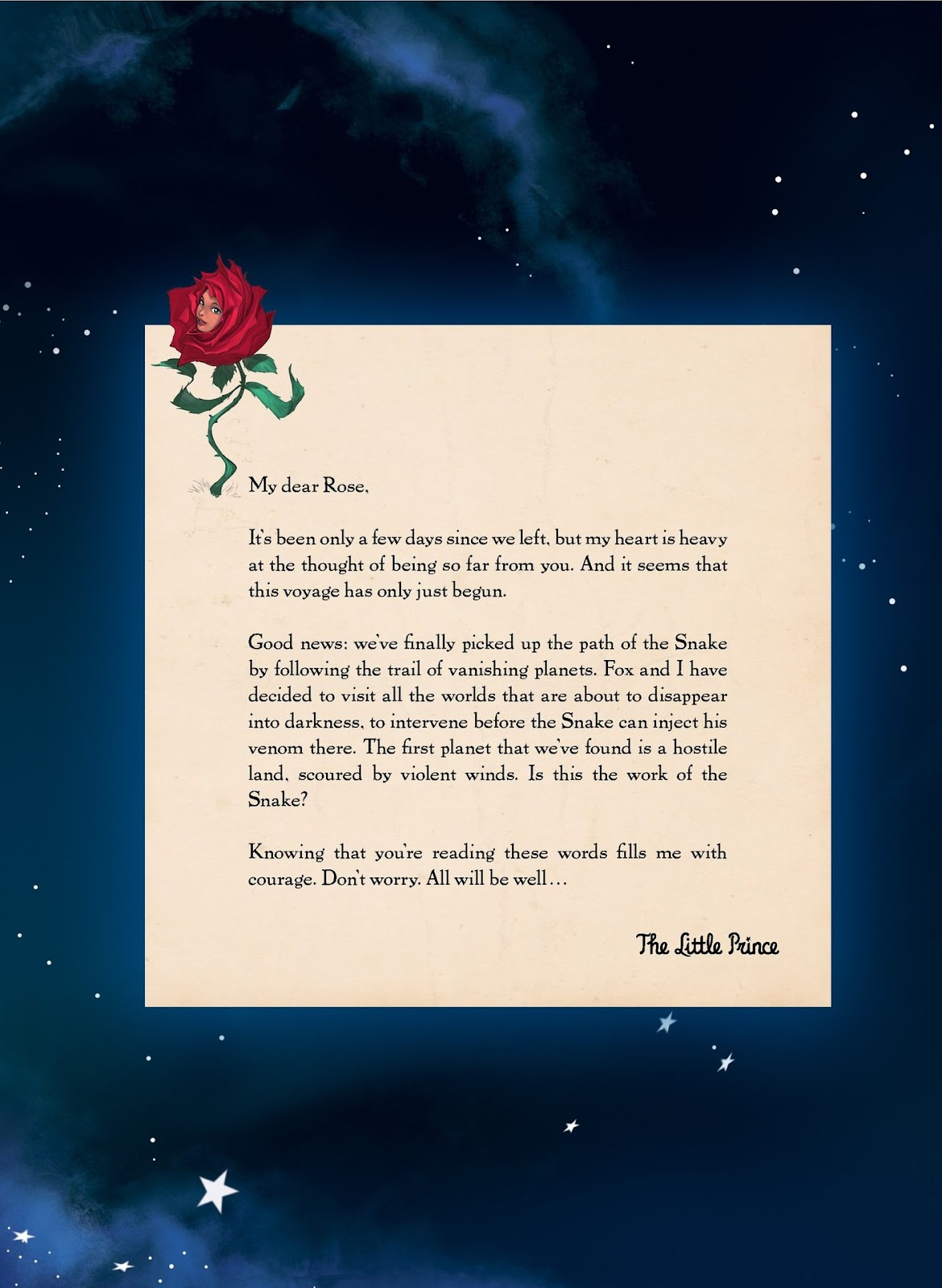 The Little Prince 1 Page 3