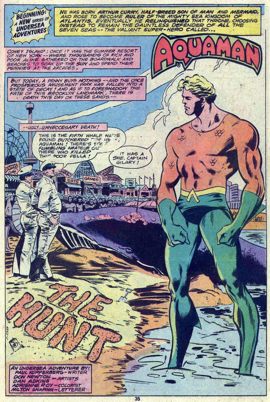 Read online Adventure Comics (1938) comic -  Issue #460 - 35