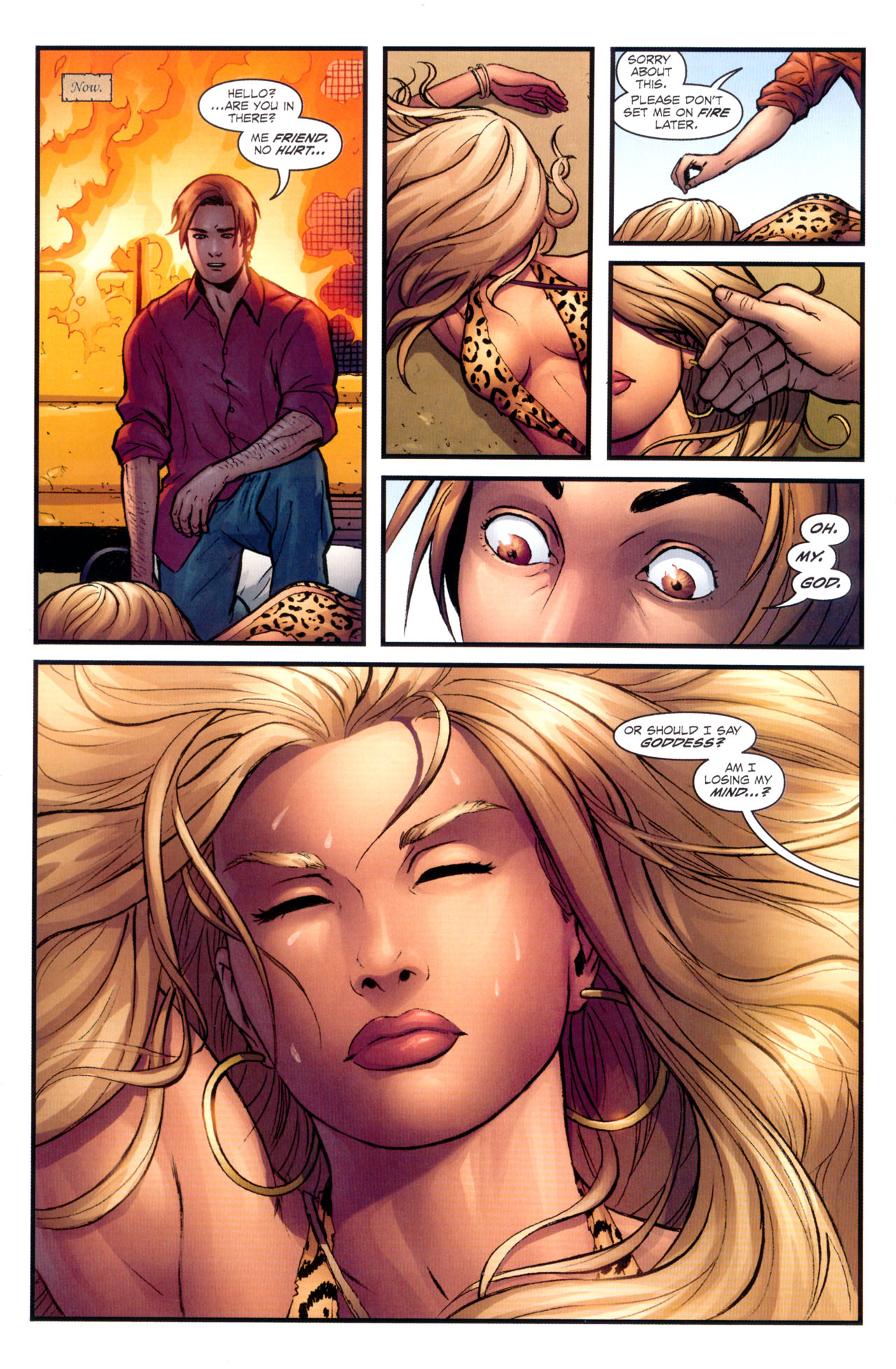 Read online Sheena, Queen of the Jungle comic -  Issue #1 - 22