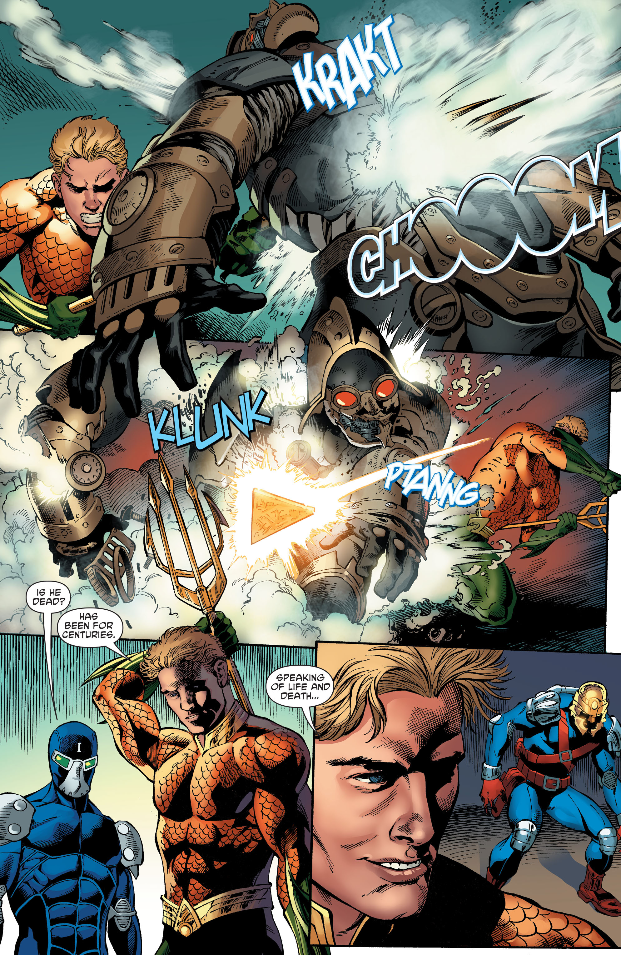 Read online Aquaman and the Others comic -  Issue #5 - 17
