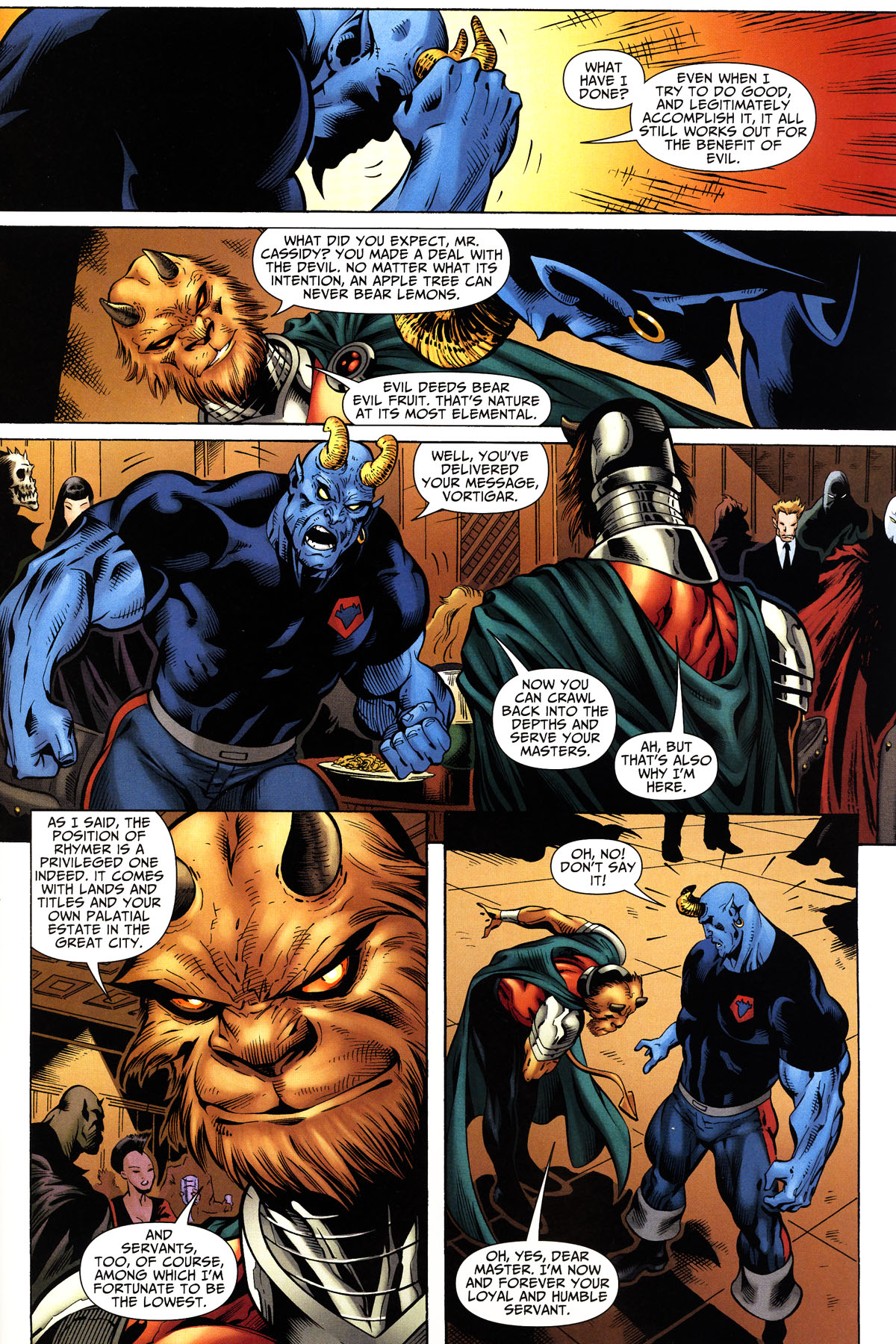 Read online Shadowpact comic -  Issue #10 - 15