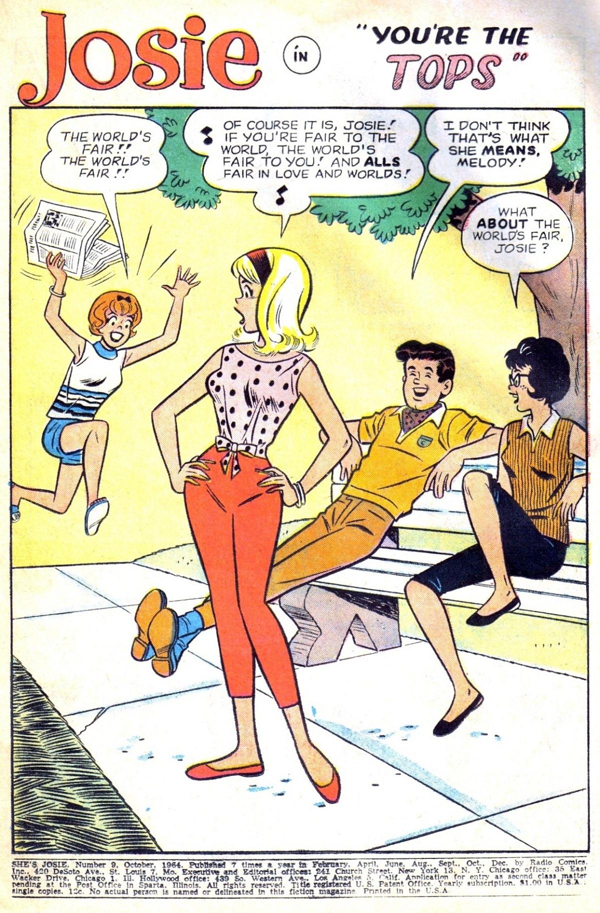 Read online She's Josie comic -  Issue #9 - 3