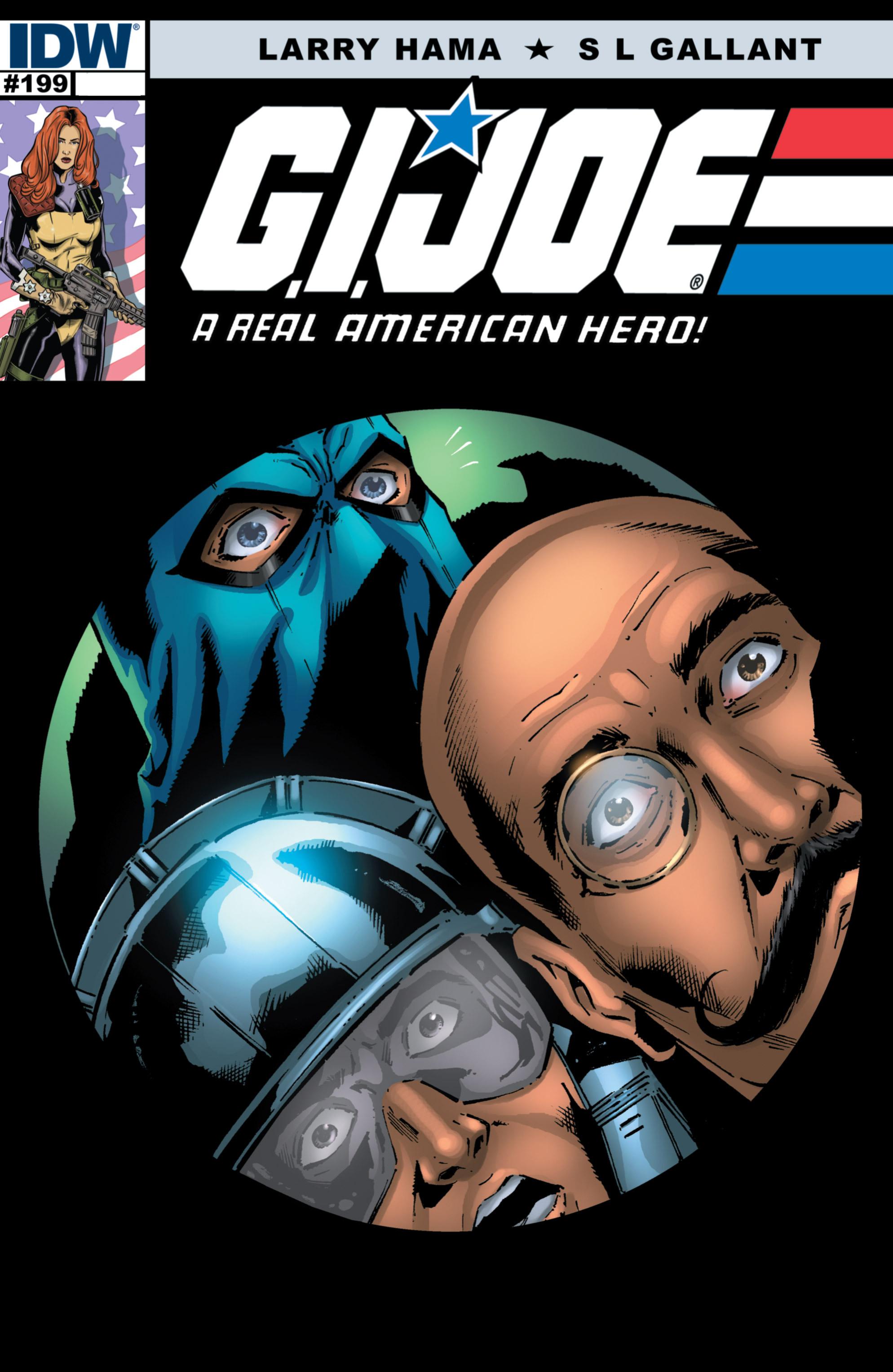 G.I. Joe: A Real American Hero 199 Page 1