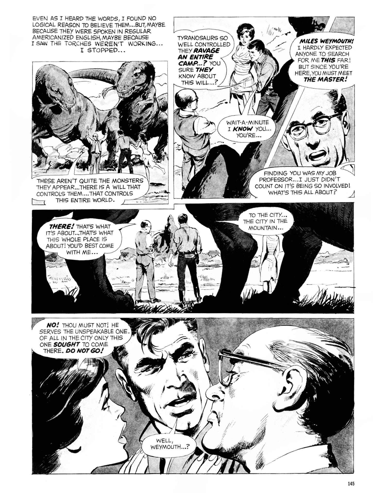 Read online Eerie Archives comic -  Issue # TPB 20 - 145