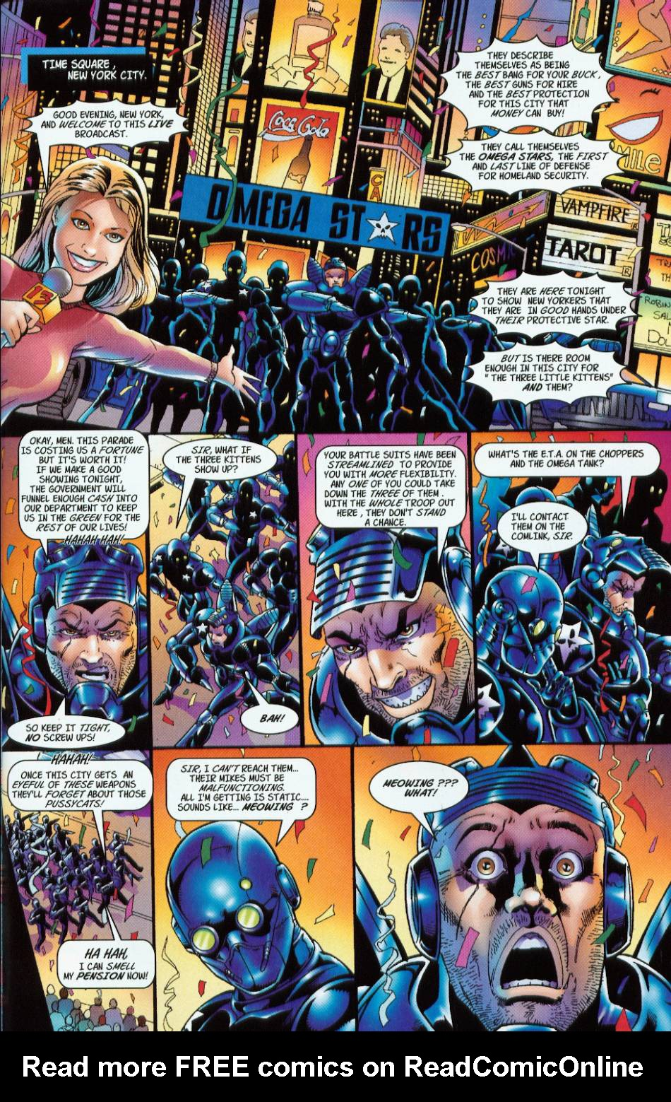 Read online 3 Little Kittens: Purrr-fect Weapons comic -  Issue #2 - 9