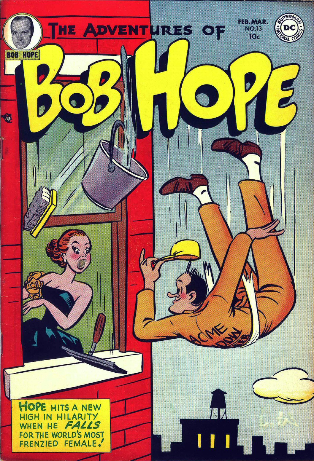 The Adventures of Bob Hope issue 13 - Page 1