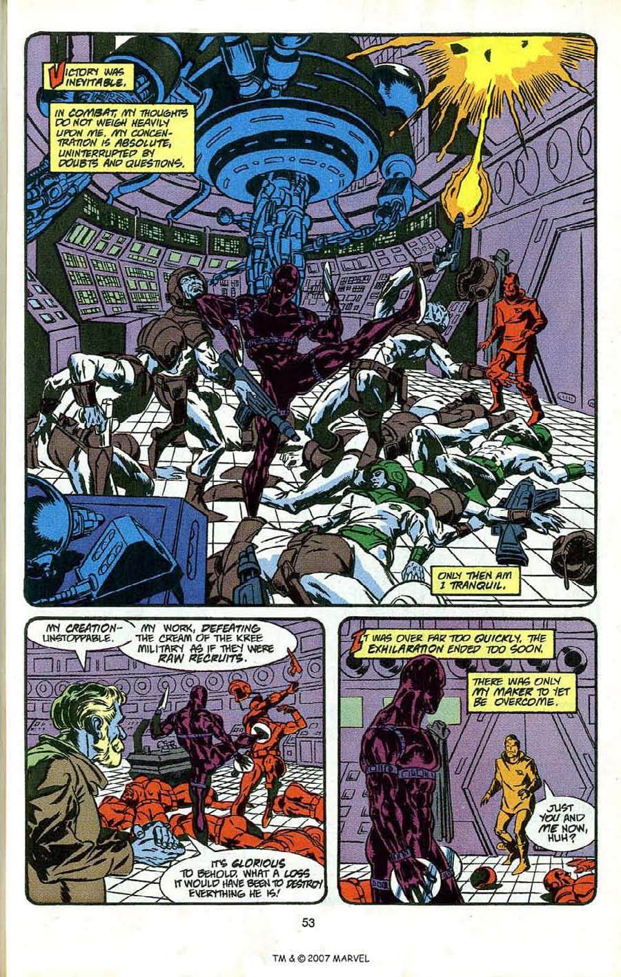 Read online Silver Surfer (1987) comic -  Issue # _Annual 4 - 55