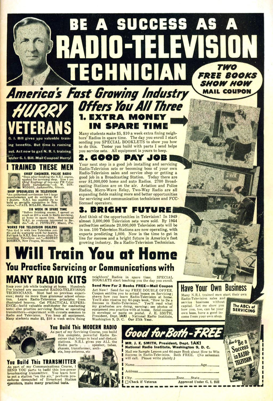 Read online Wonder Woman (1942) comic -  Issue #45 - 51
