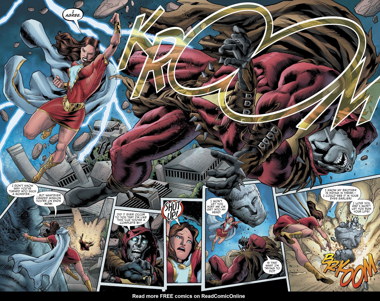 Read online The Infected: King Shazam comic -  Issue # Full - 19