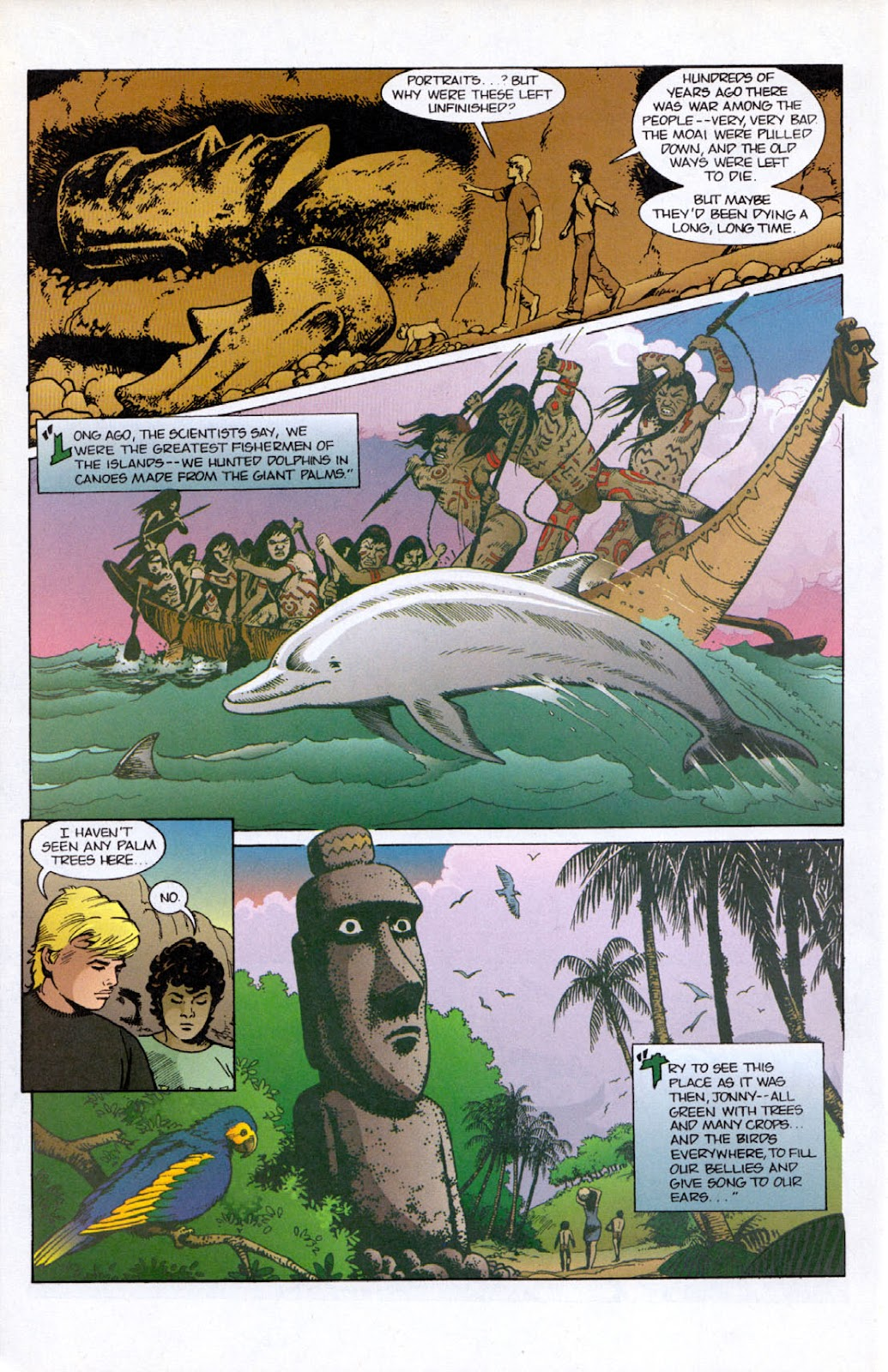 Read online The Real Adventures of Jonny Quest comic -  Issue #12 - 22
