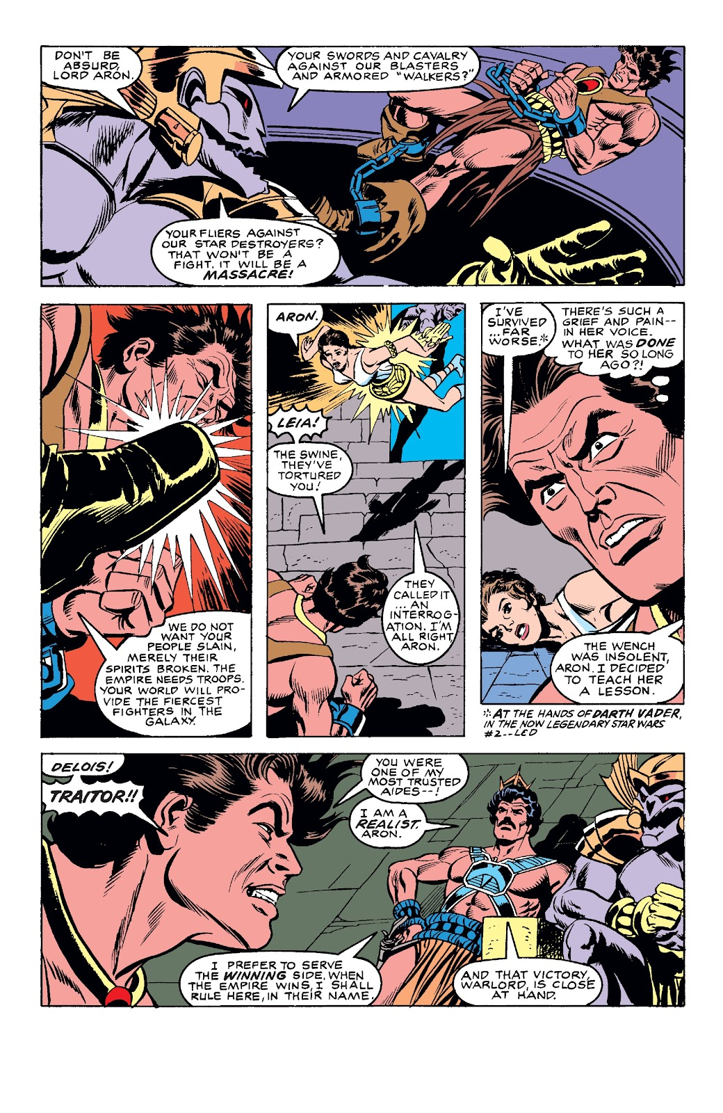 Read online Star Wars Legends: The Original Marvel Years - Epic Collection comic -  Issue # TPB 3 (Part 4) - 36