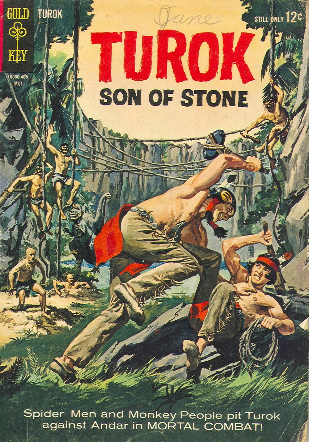 Read online Turok, Son of Stone comic -  Issue #39 - 1